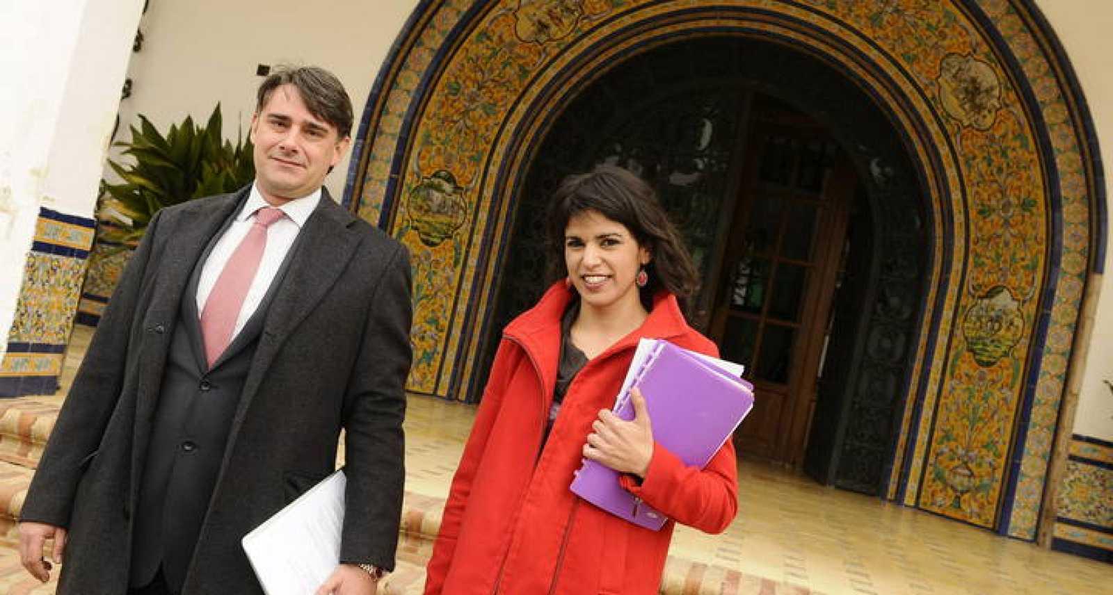 La candidata de Podemos a la Junta de Andalucía, Teresa Rodríguez, que optará por la provincia de Cádiz.