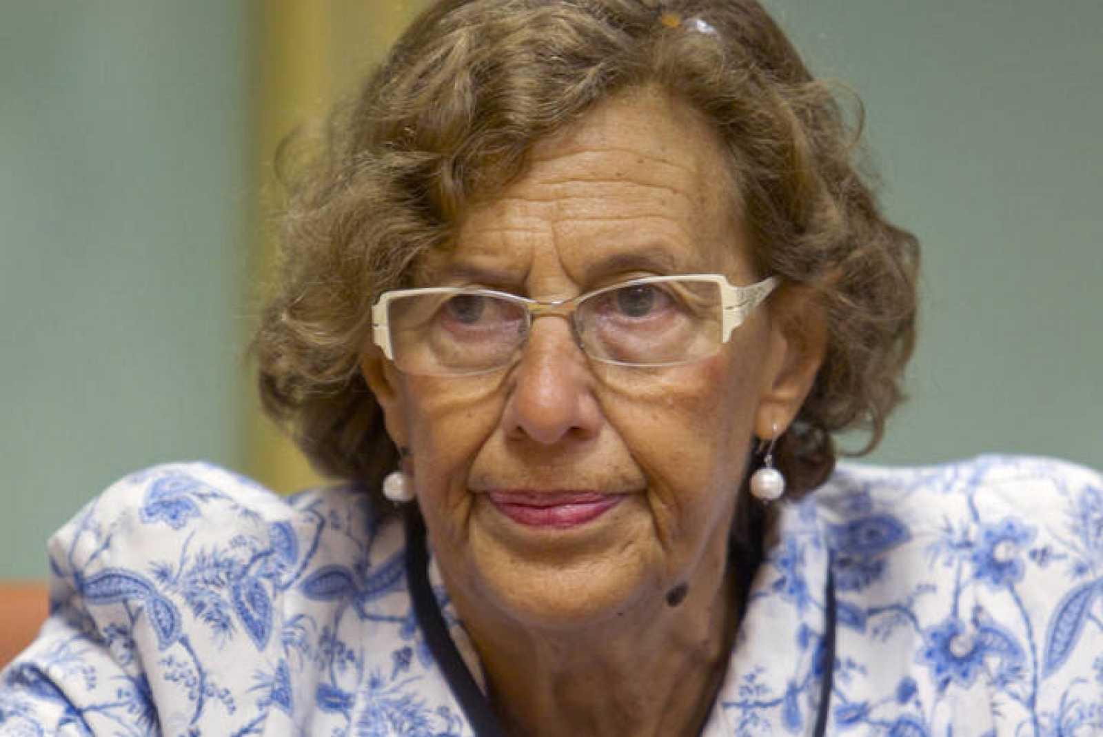 La exmagistrada Manuela Carmena, en una imagen de archivo.