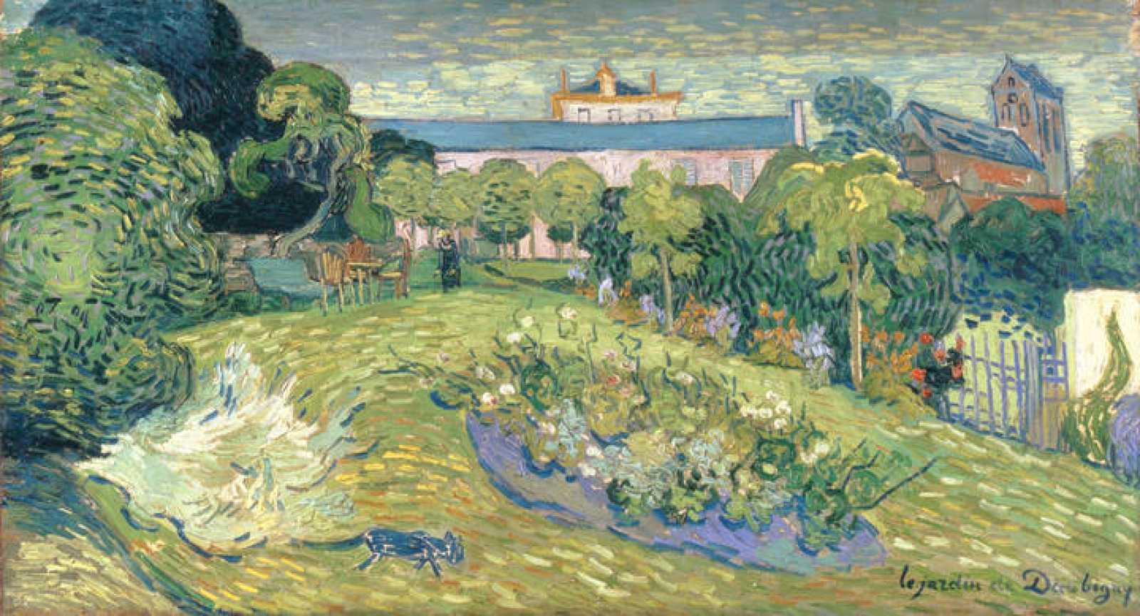 El jardín de Daubigny (1890), Vincent Van Gogh
