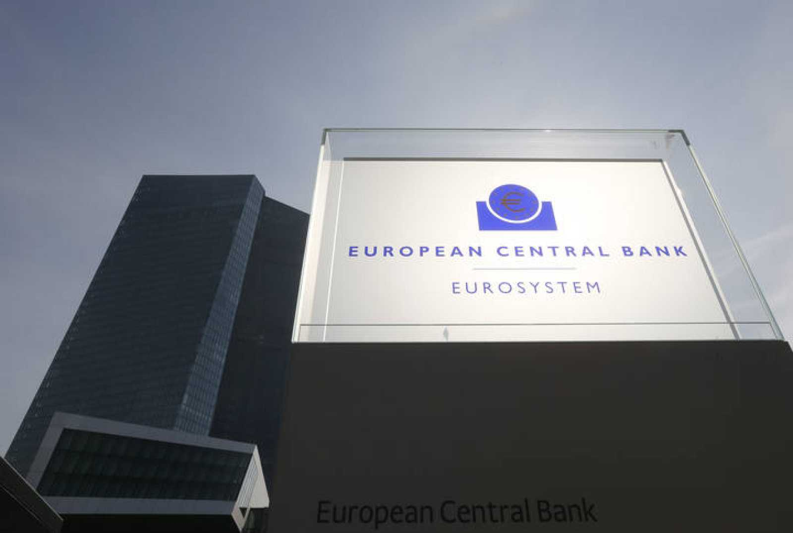 Exterior de la nueva sede del BCE en Fráncfort