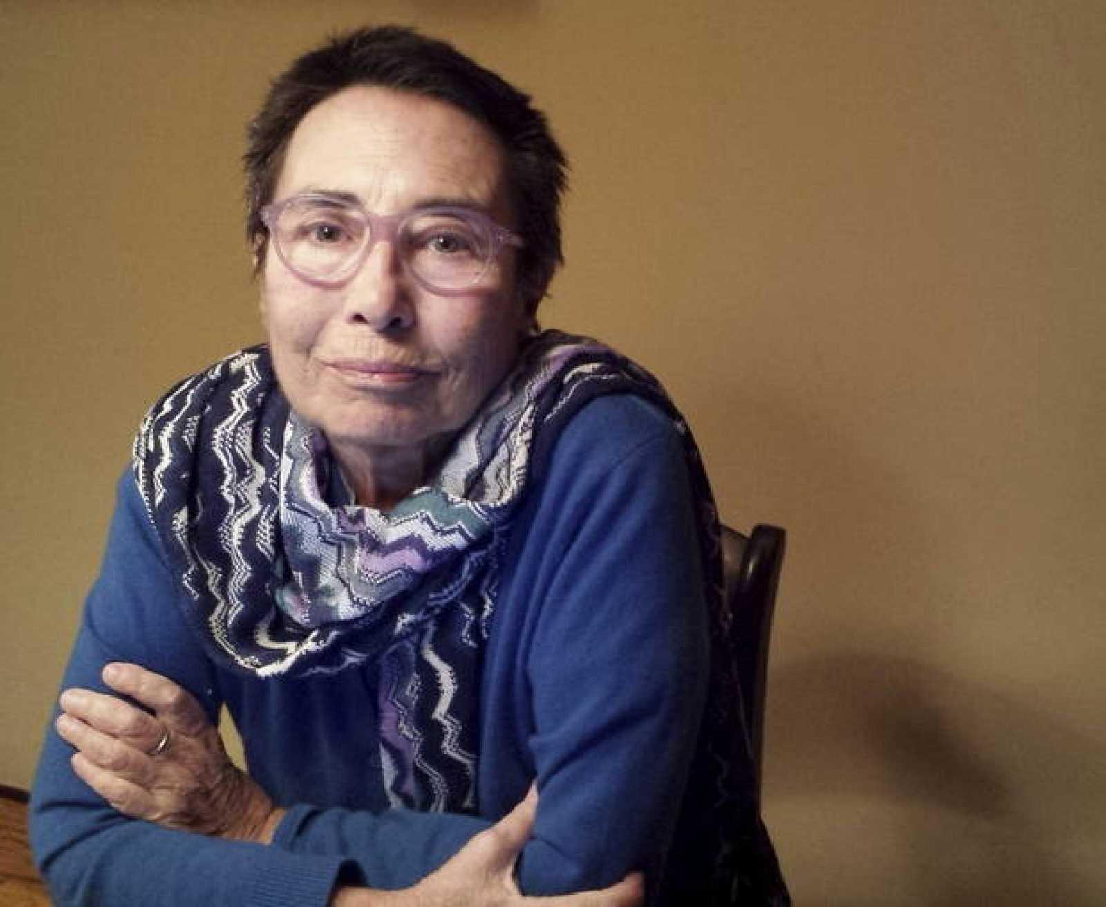 Fotografía facilitada por la Editorial Icaria de la escritora y periodista Margarita Rivière.