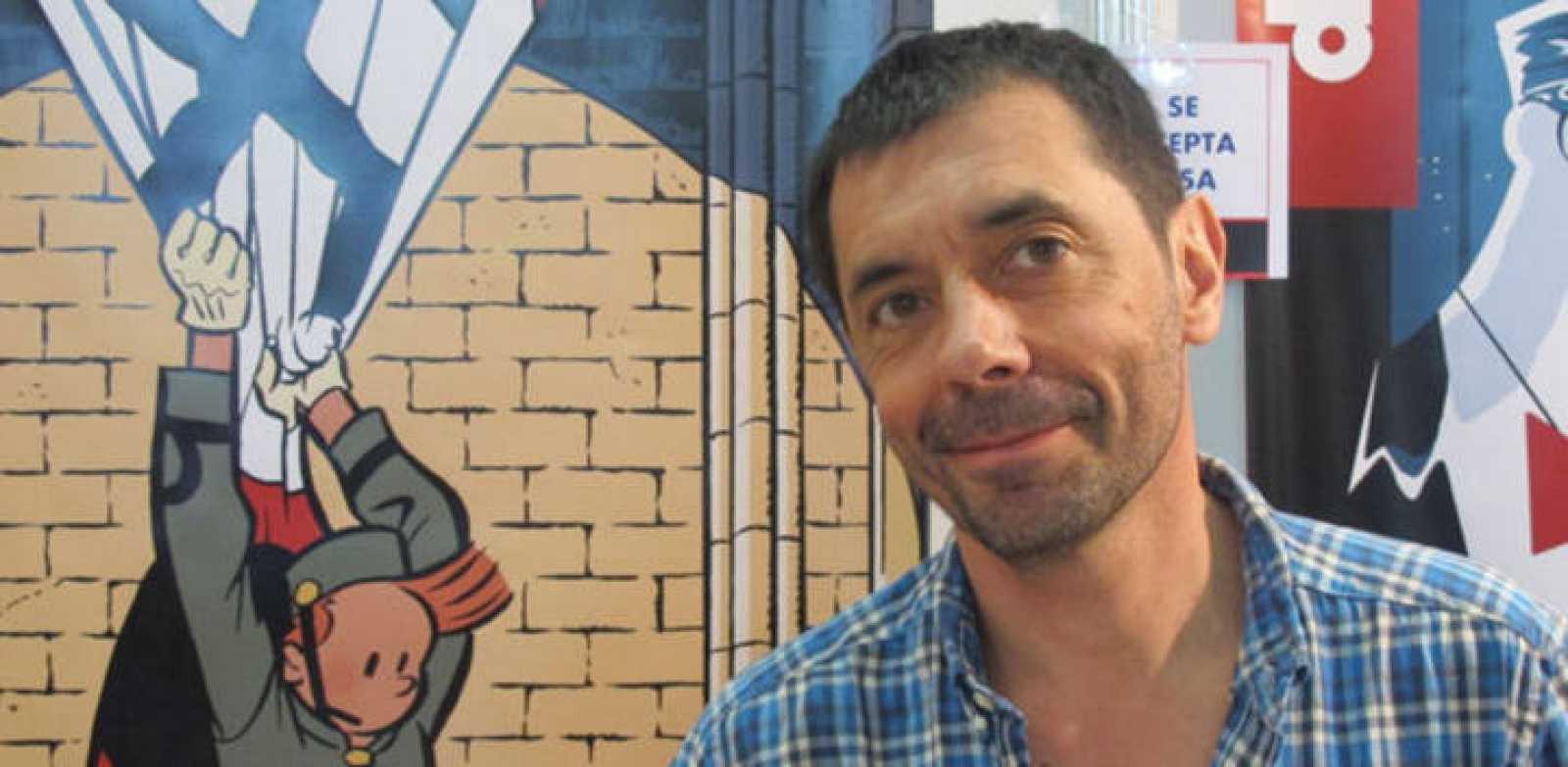Olivier Schwartz en el Salón del Cómic de Barcelona