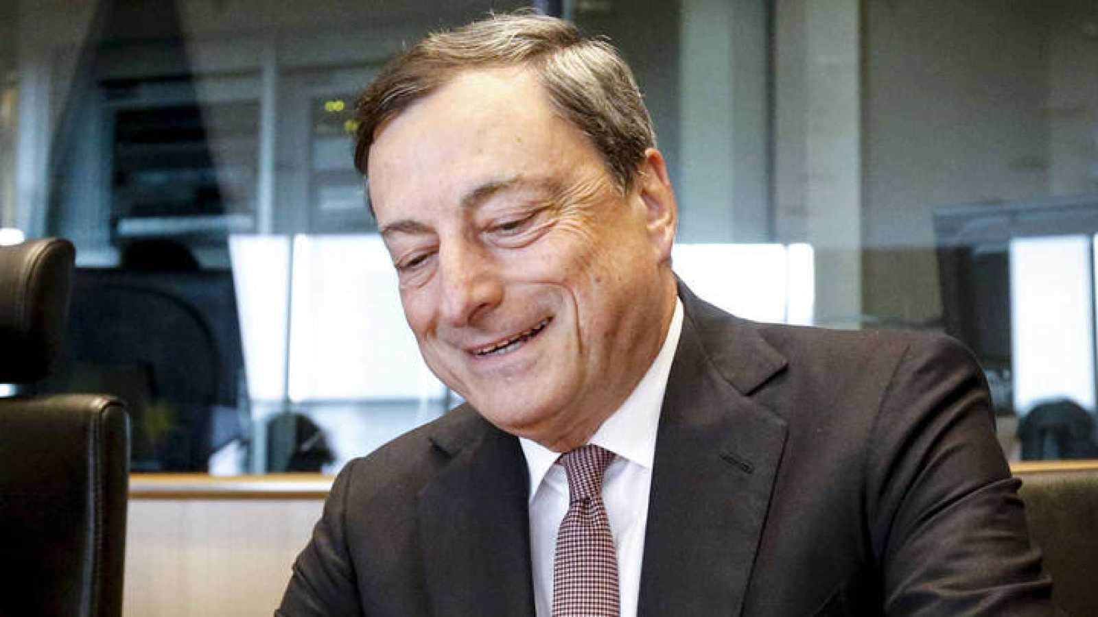 Mario Dragi, presidente del Banco Central Europeo