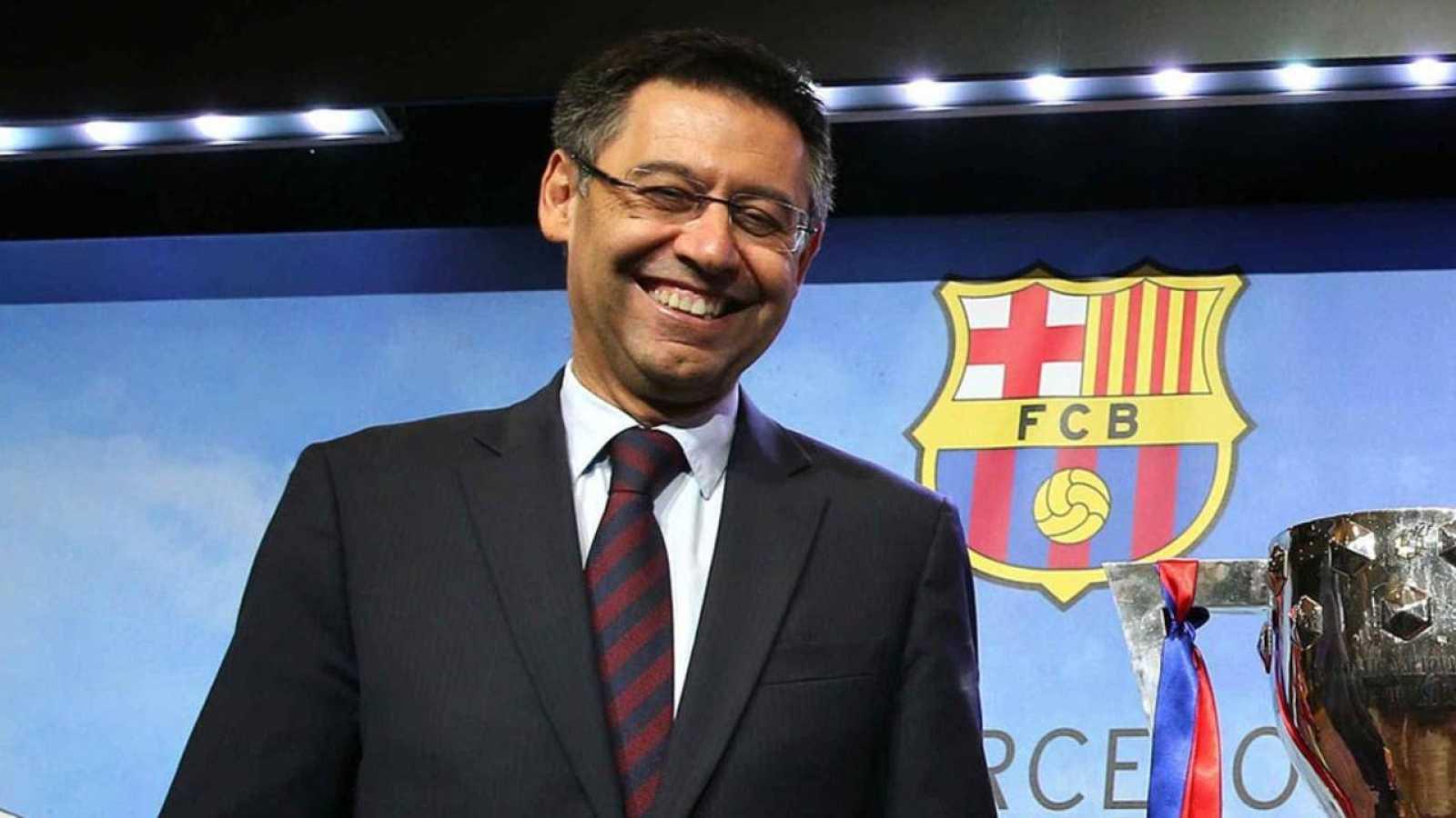 Josep María Bartomeu, presidente del Barça.