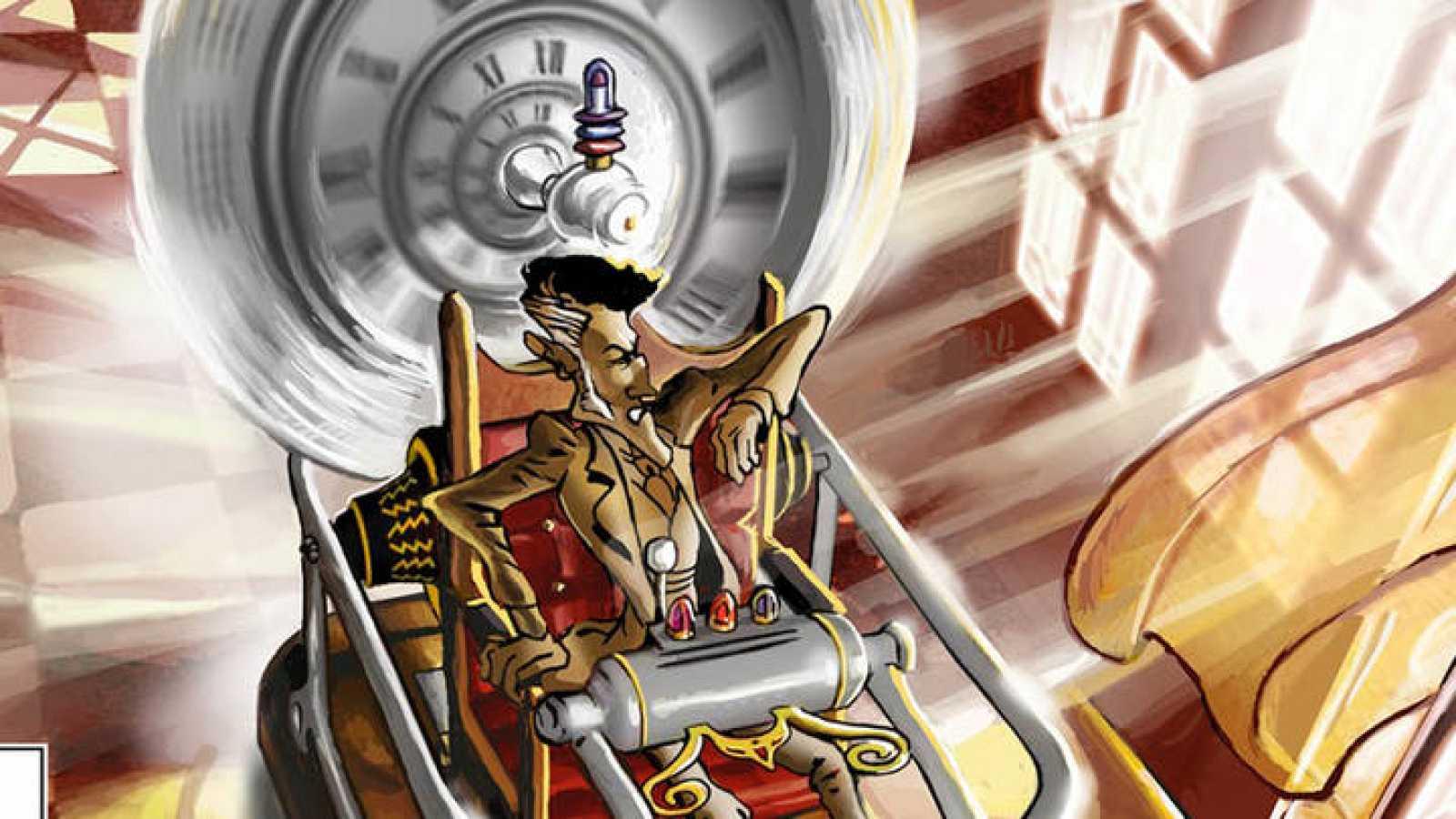 La Máquina Del Tiempo De Hg Wells Según Los Dibujantes