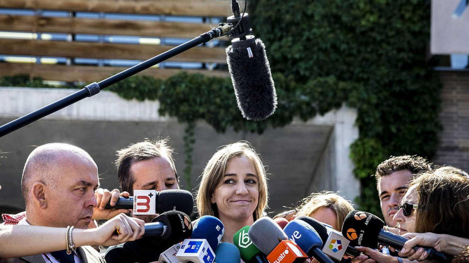 Tania Sánchez, excandidata autonómica de IU y exconcejal en Rivas
