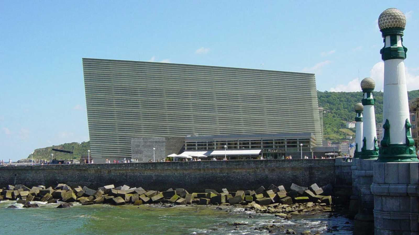 Vista del auditorio Kursaal, en San Sebastián, una obra del arquitecto Rafael Moneo.