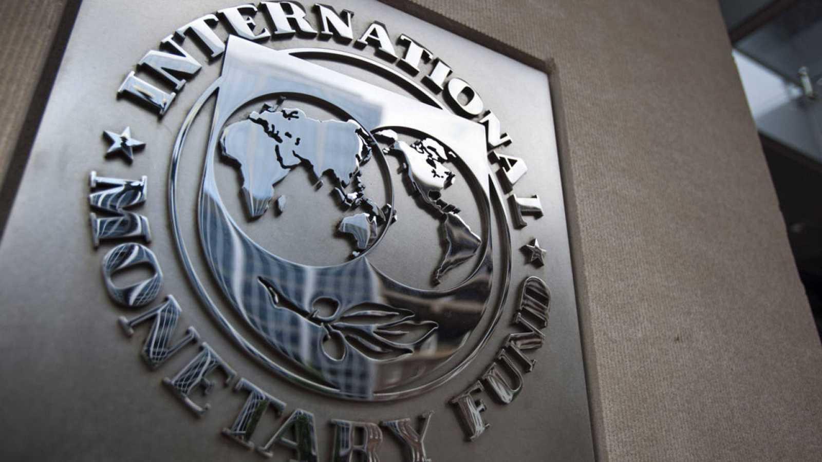Fachada de la sede del Fondo Monetario Internacional (FMI) en Washington.