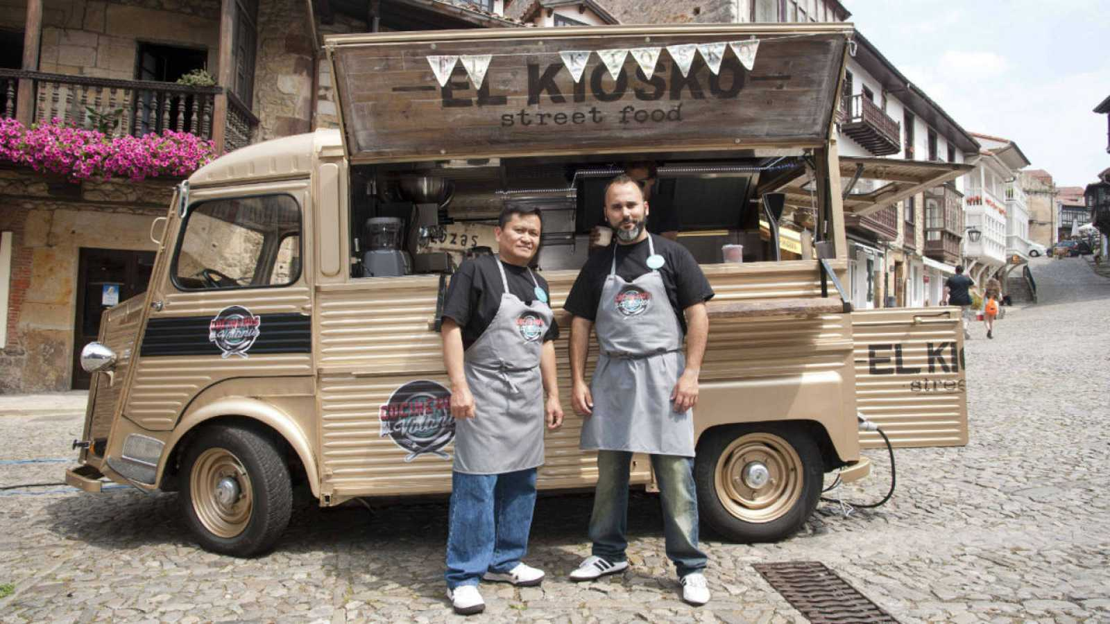 Gonzalo Martín y Ariel Supangan, 'El Kiosko'