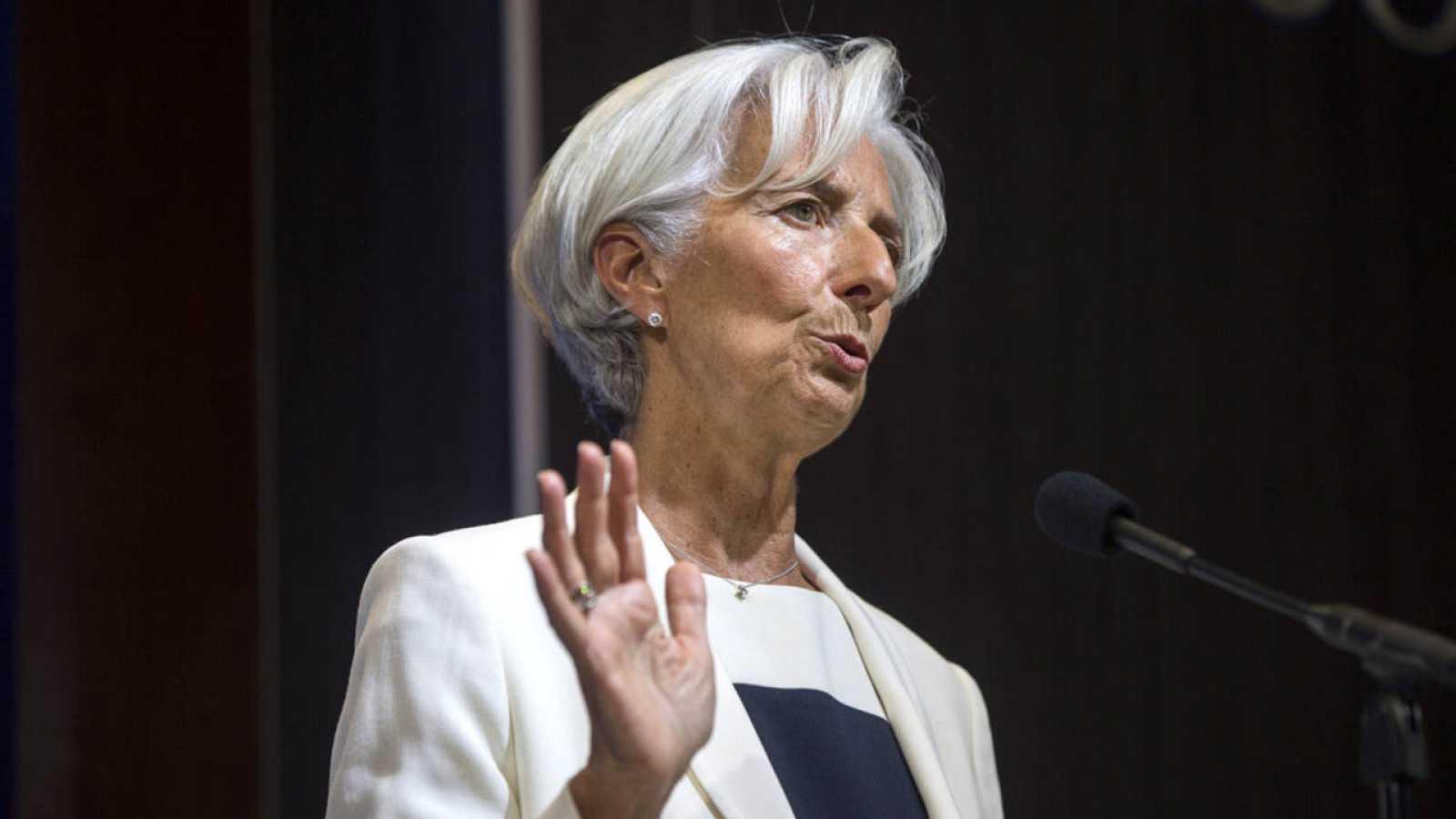 La directora gerente del FMI, Christine Lagarde, en una imagen de archivo.