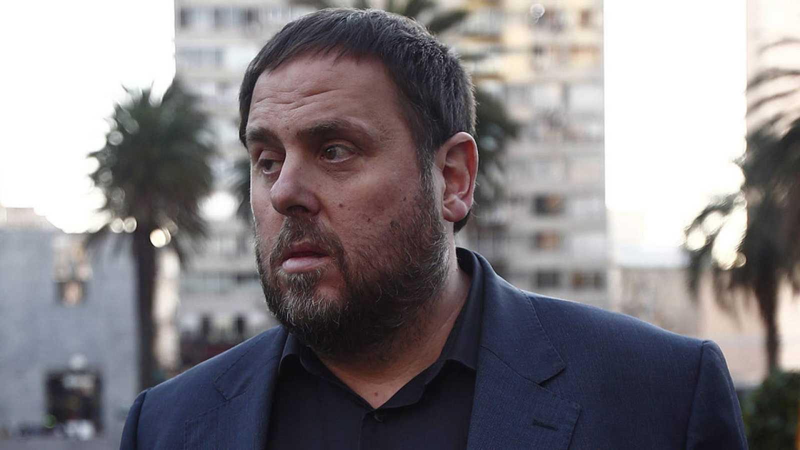El presidente de ERC, Oriol Junqueras