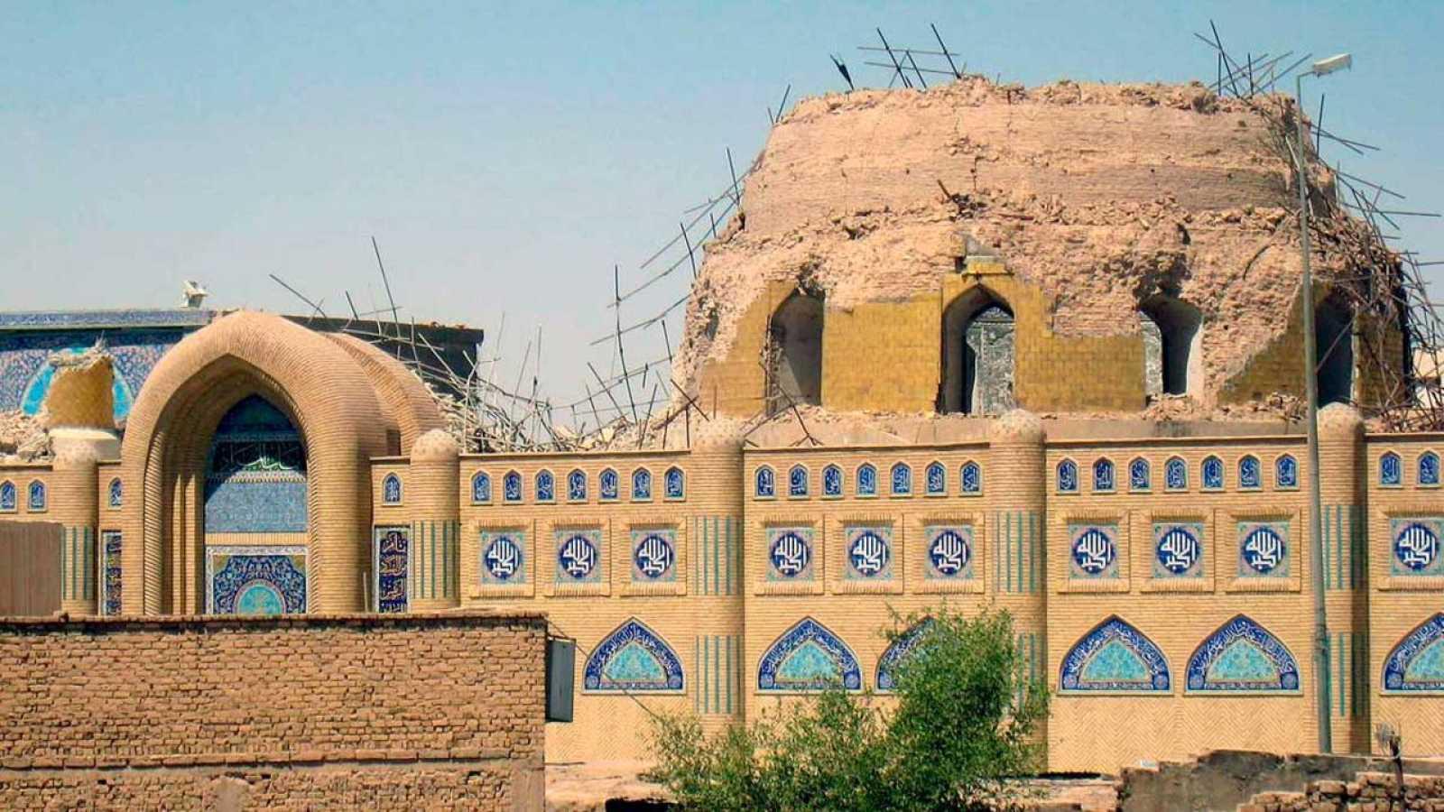 Imagen de la Gran mezquita de Samarra
