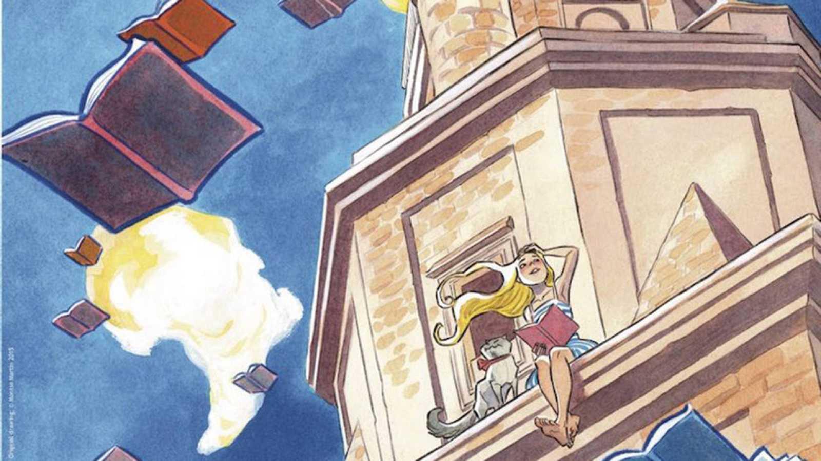 Fragmento del cartel de 'Viñetas desde o Atlántico'