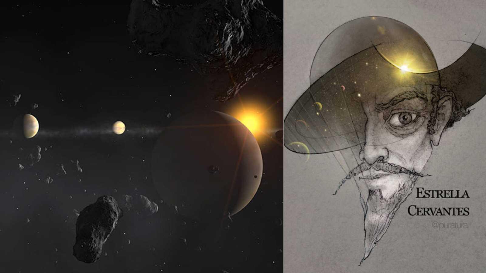 La estrella mu Arae y sus cuatro planetas pronto podrían llamarse Cervantes, Quijote, Rocinante, Sancho y Dulcinea