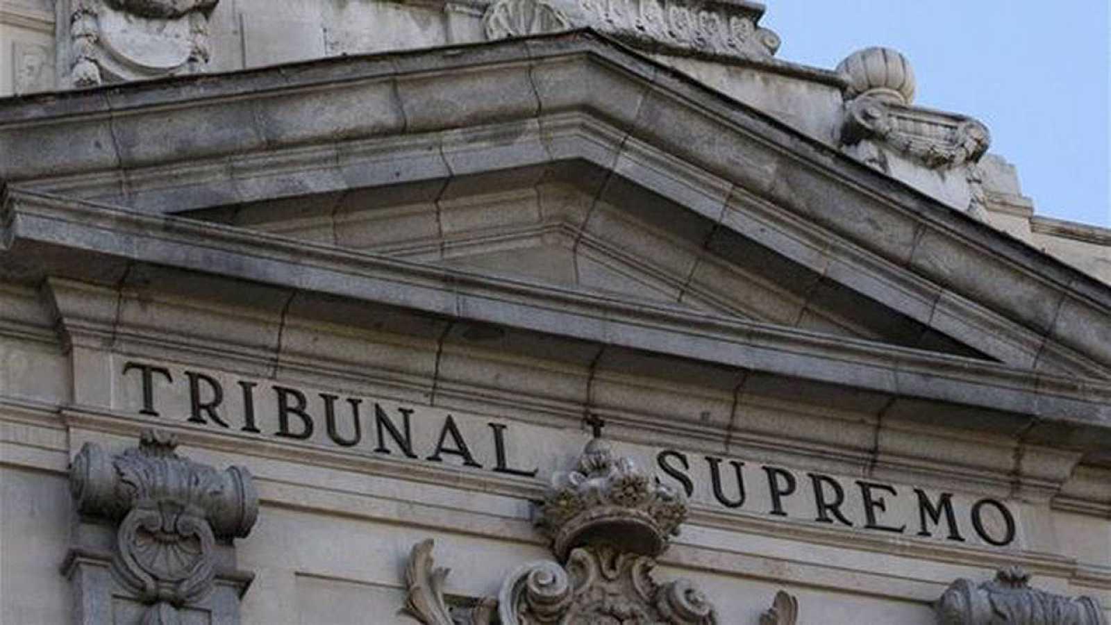Imagen de archivo de la fachada del Tribunal Supremo