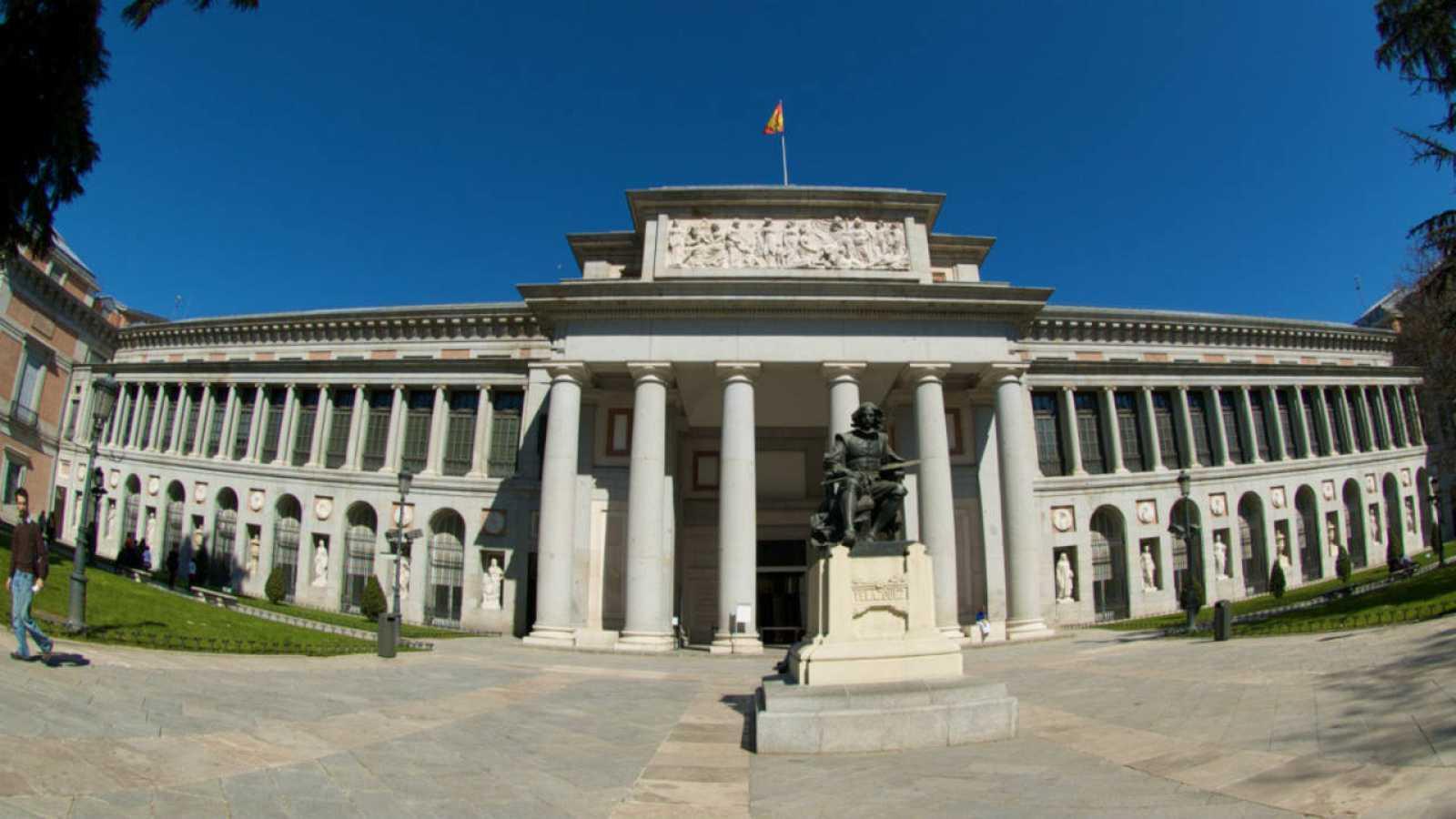 Exteriores del Museo del Prado.