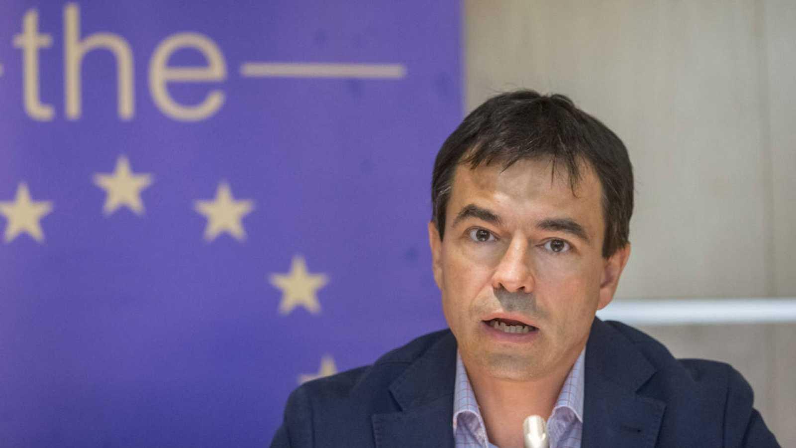 El candidato a la Moncloa y líder de UPyD, Andrés Herzog