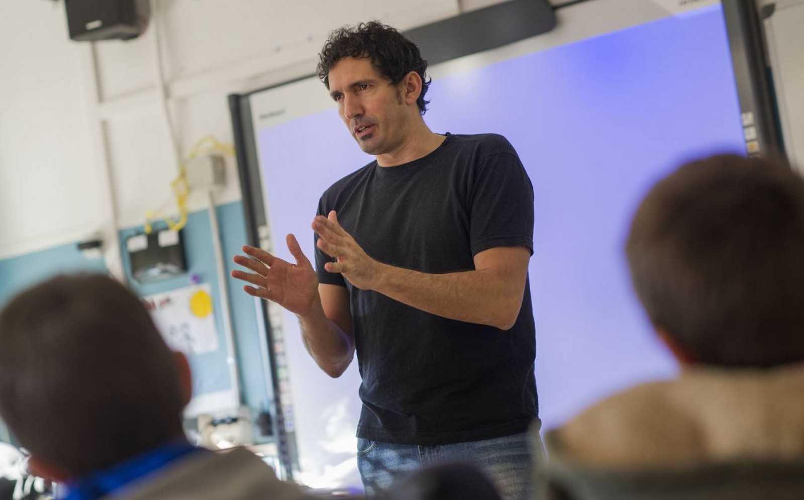 César Bona, el mejor profesor de España