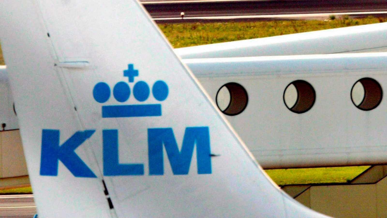 Aviones de KLM en el aeropuerto holandés de Schiphol