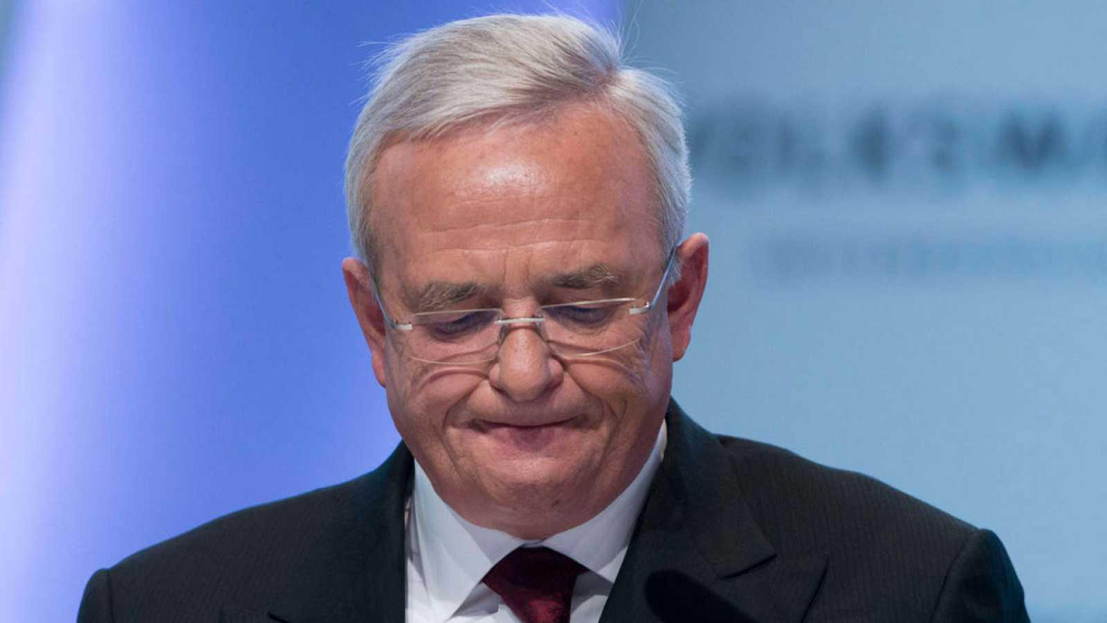 El consejero delegado de Volkswagen, Martin Winterkorn
