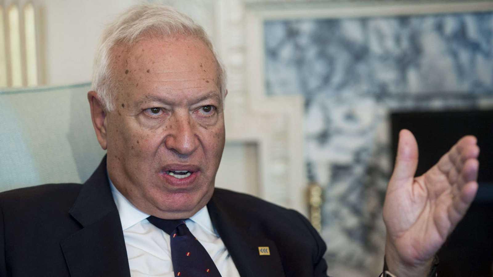 El ministro de Exteriores, José Manuel García-Margallo, en una foto de archivo.