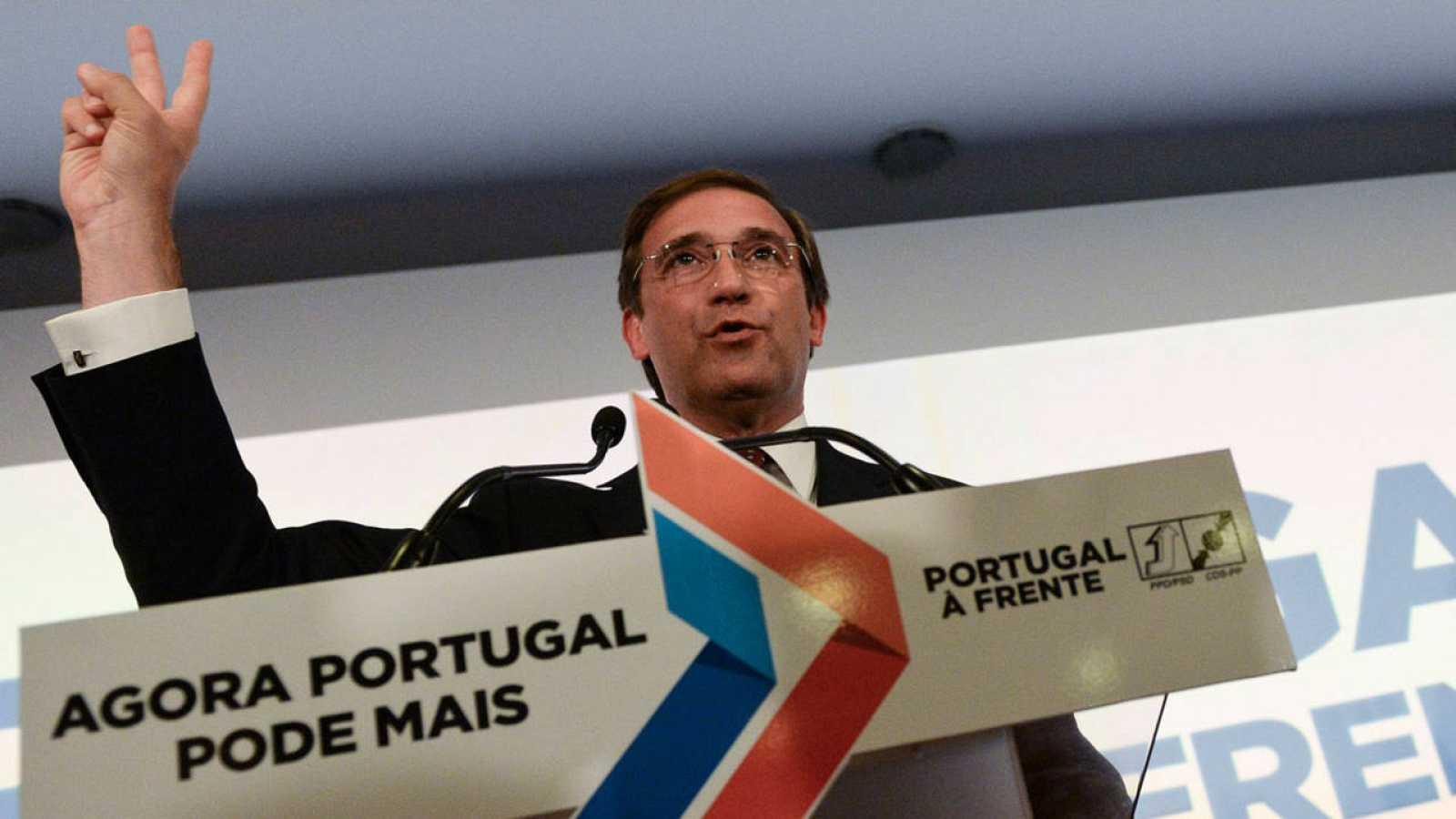 El actual primer ministro portugiés y líder del Partido Socialdemócrata portugués (PSD), Pedro Passos Coelho.