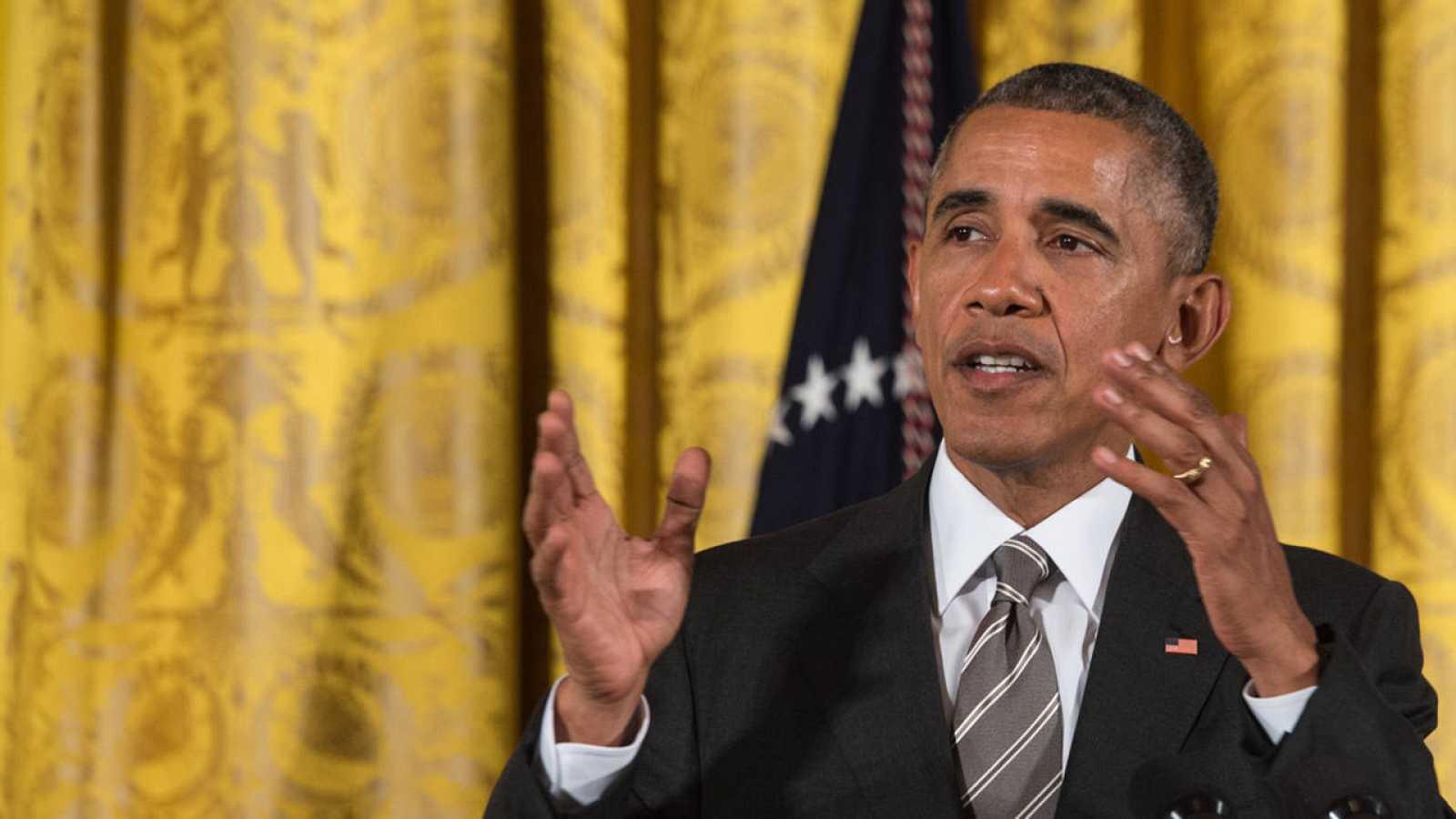 El presidente de EE.UU, Barack Obama, en Washington.