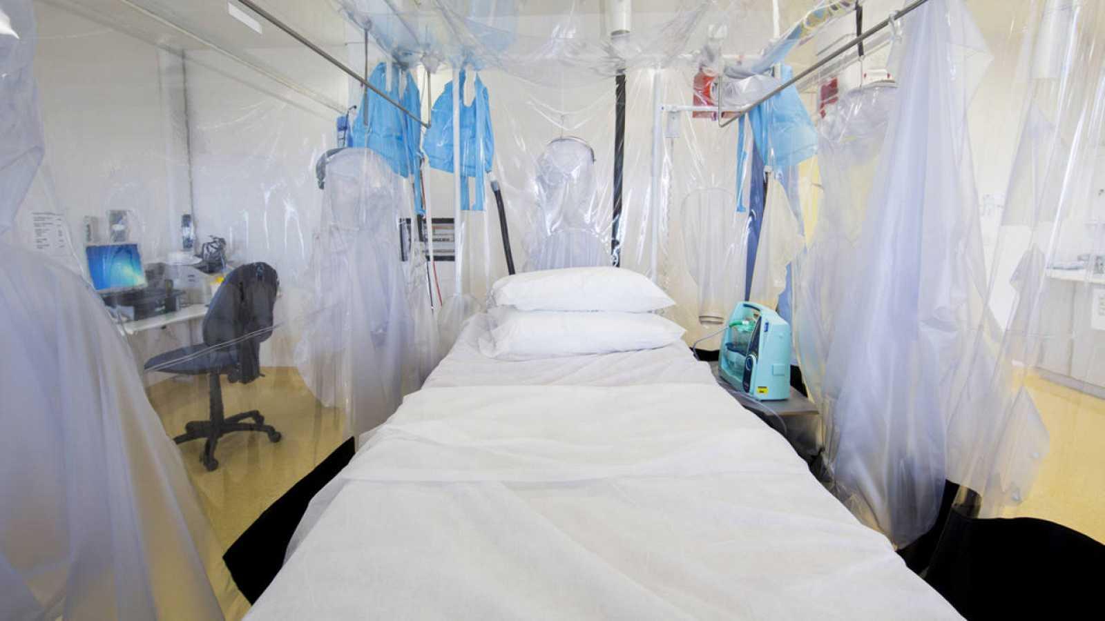 Unidad de aislamiento utilizada para enfermedades infecciosas.