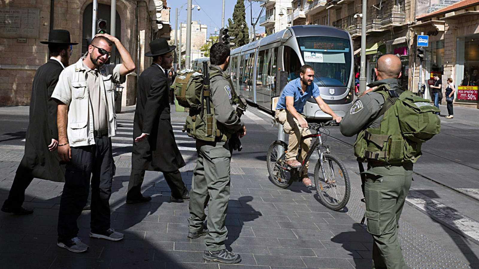 Refuerzo de la seguridad en Jerusalén