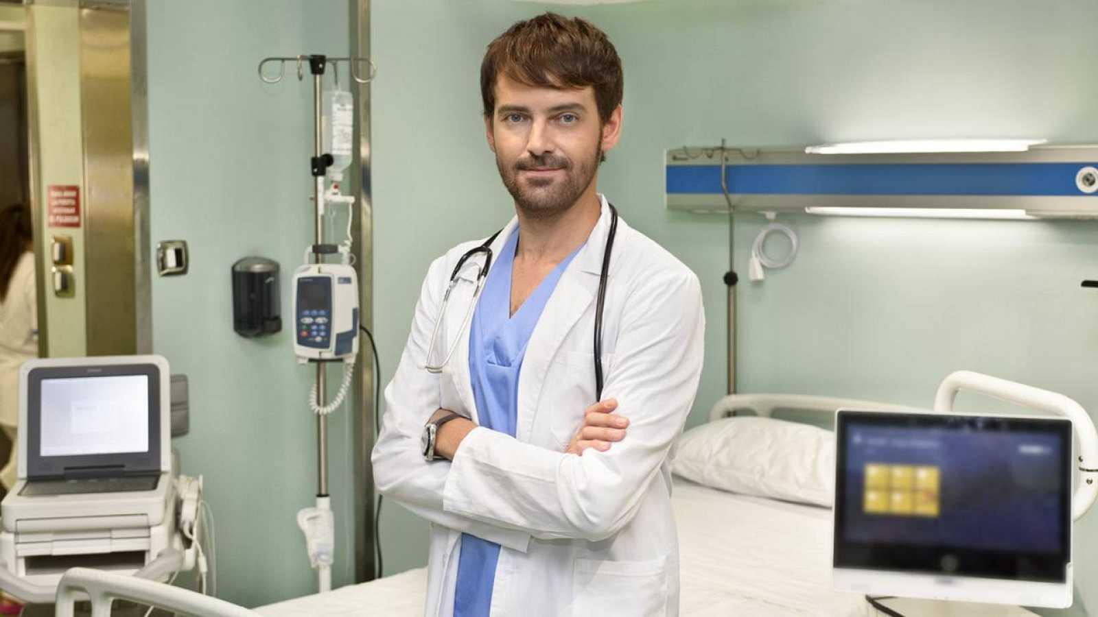 Fran Martínez interpreta al Dr. Diego Herranz en Centro Médico