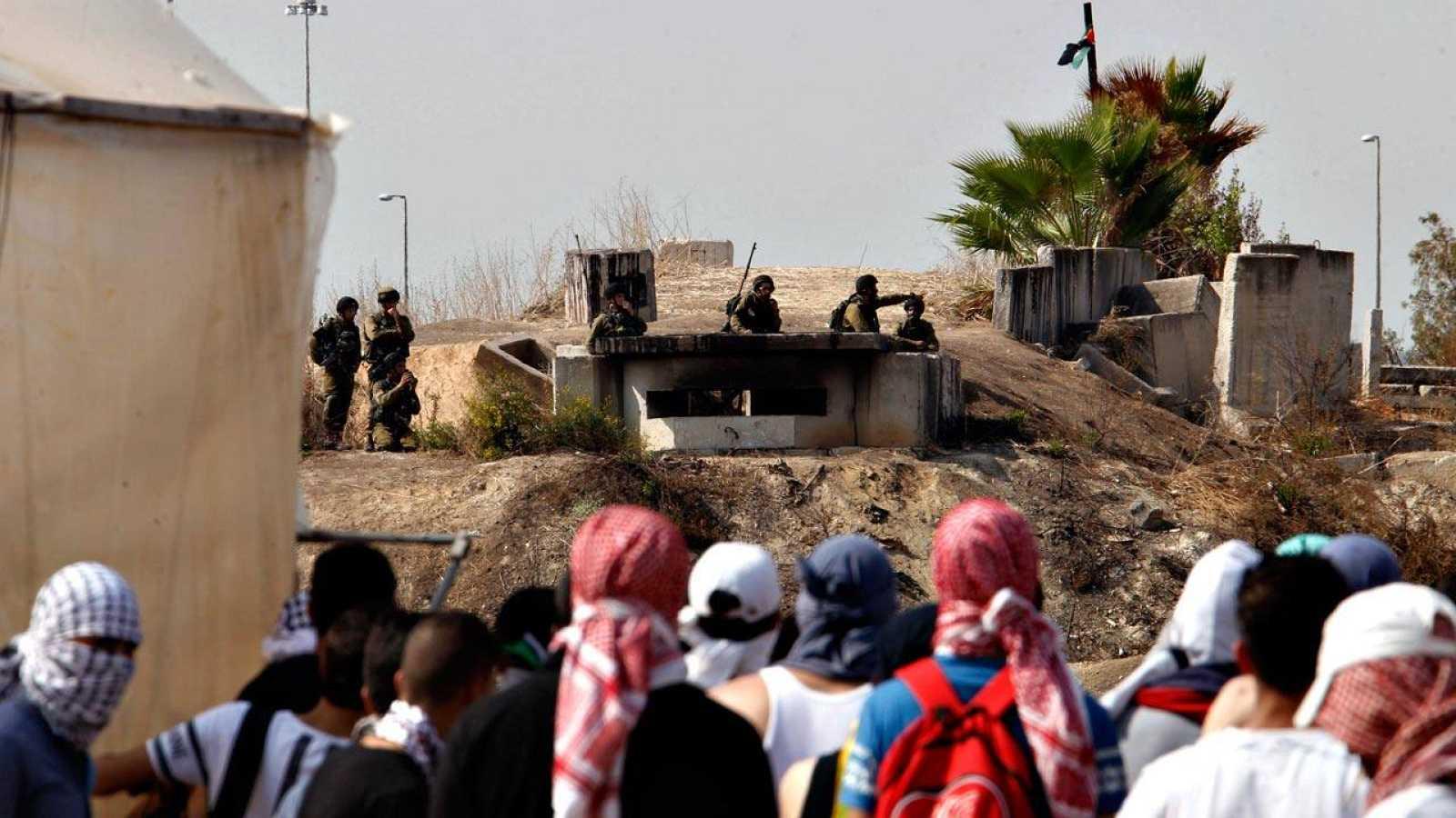 La violencia se ha recrudecido en Oriente Medio, con nuevos enfrentamientos entre jóvenes palestinos y el Ejército israelí