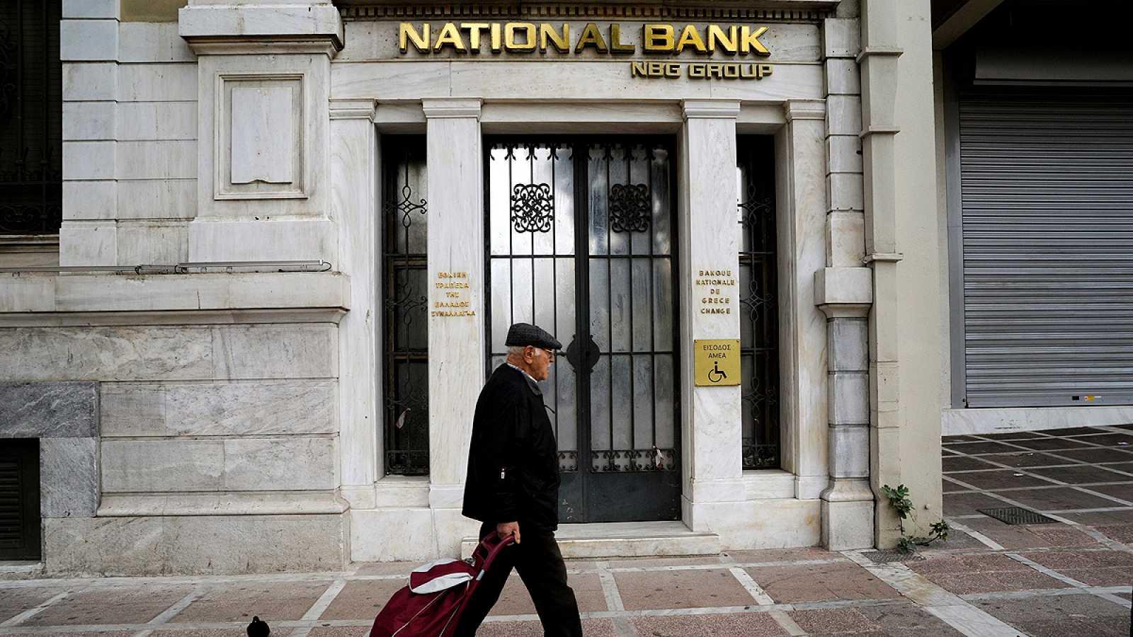 Los bancos griegos necesitarán hasta 14.400 millones de euros para su recapitalización