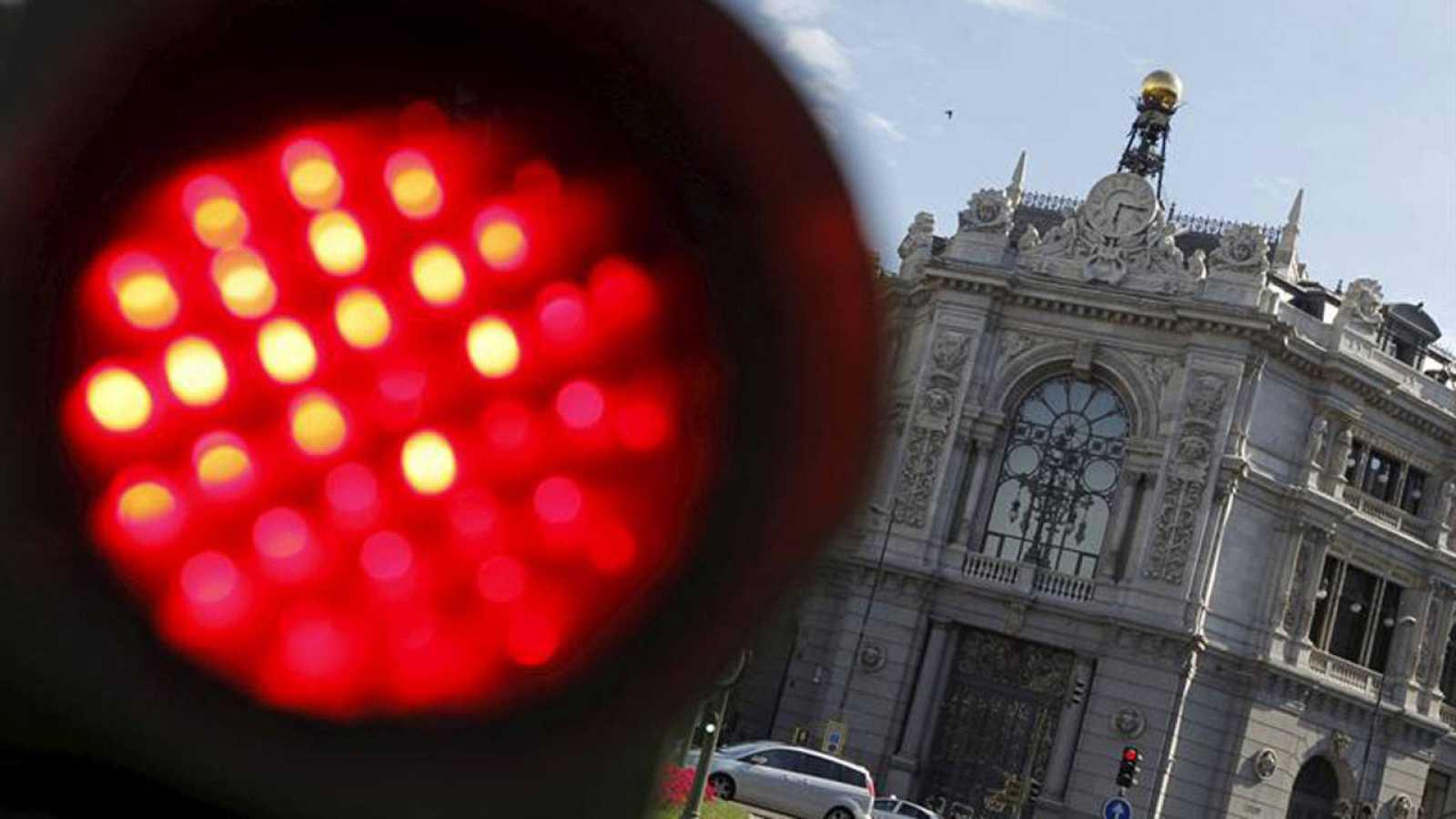 Exterior del Banco de España