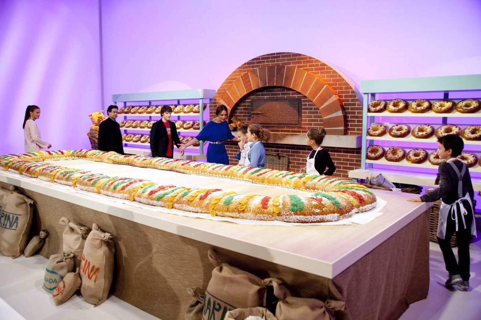El roscón de Reyes más grande del mundo