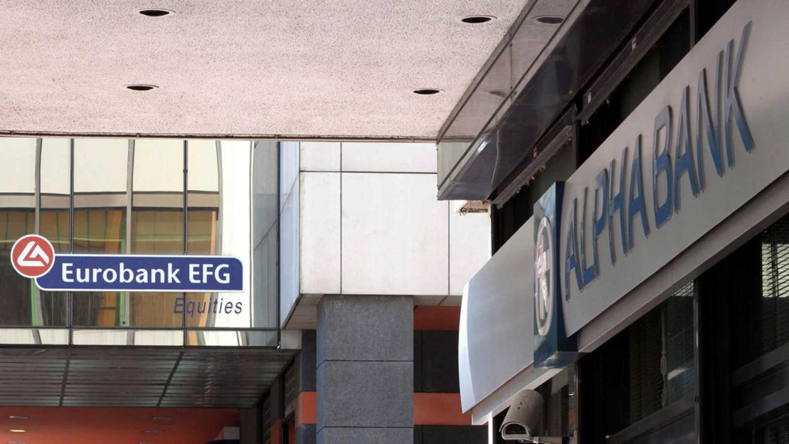 Sucursal del Alpha Bank en Atenas