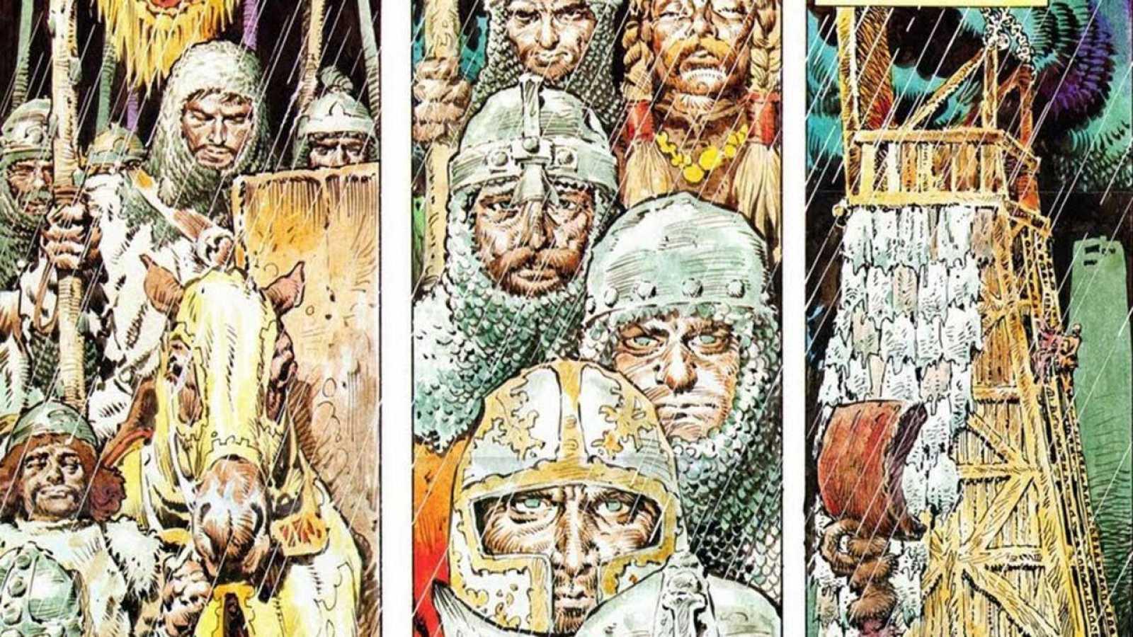 Viñetas de 'El Cid' de Antonio Hernández Palacios
