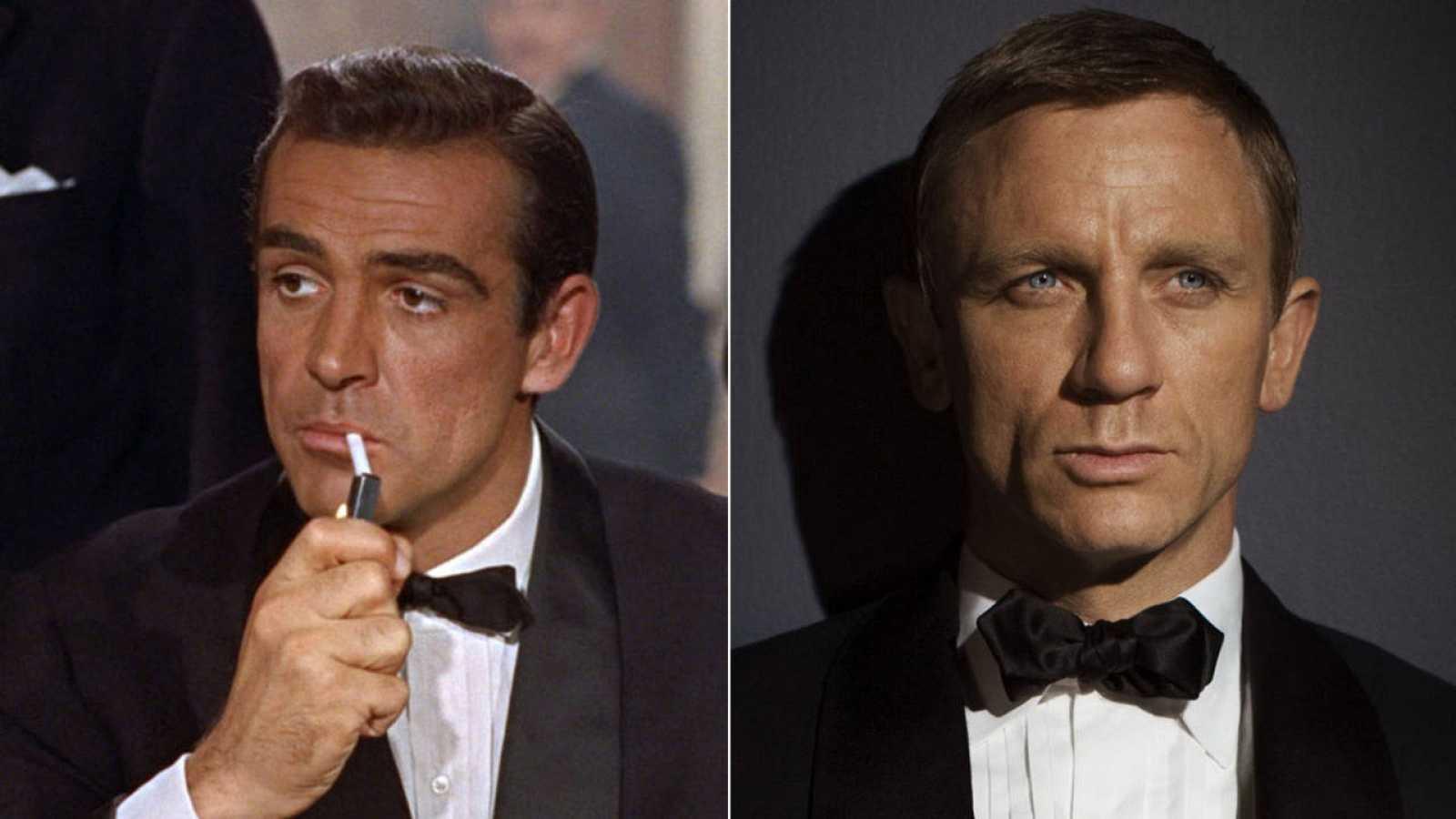 Sean Connery y Daniel Craig, el primer Bond y el actual