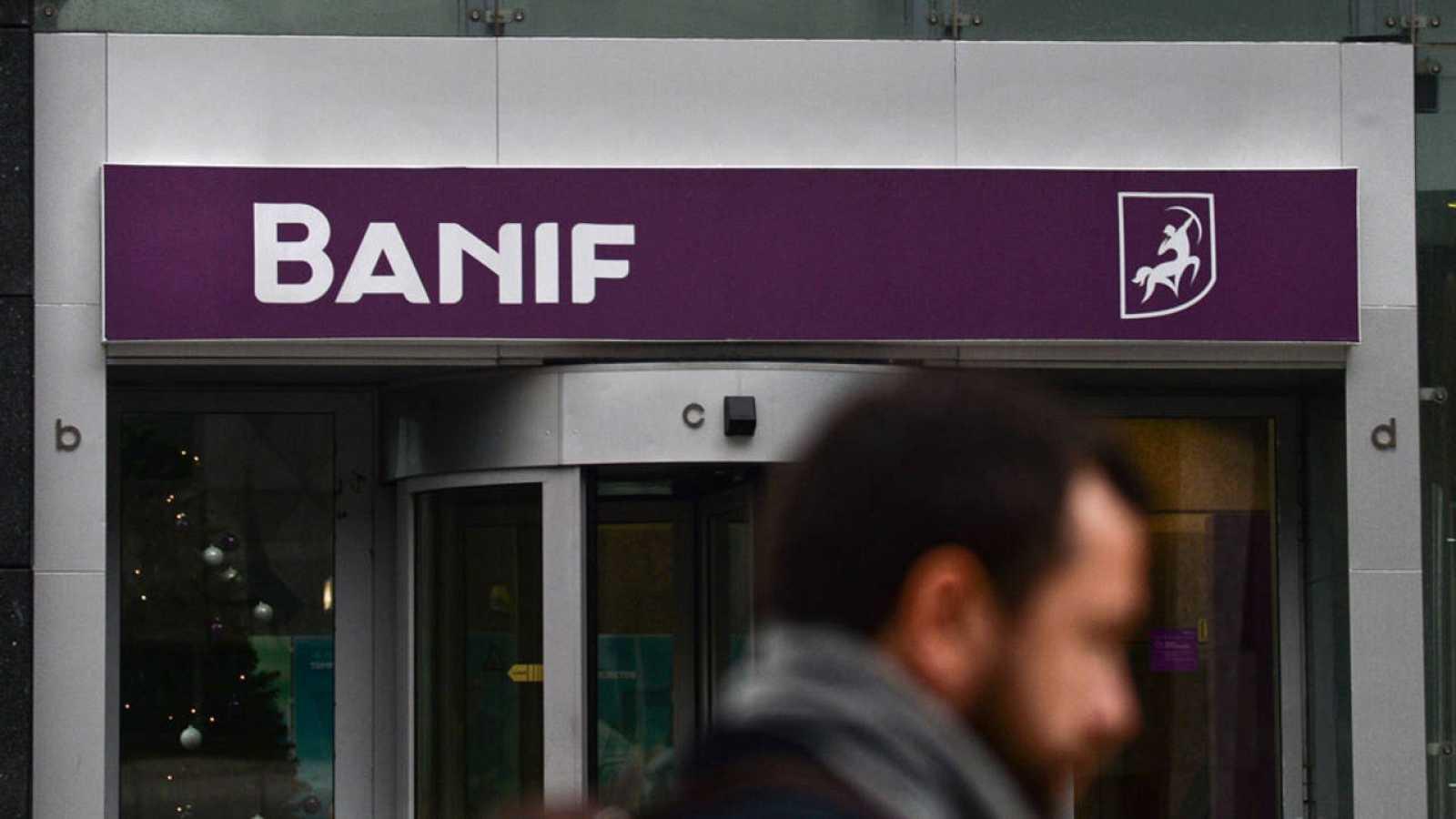 Imagen de una sucursal del banco portugués Banif