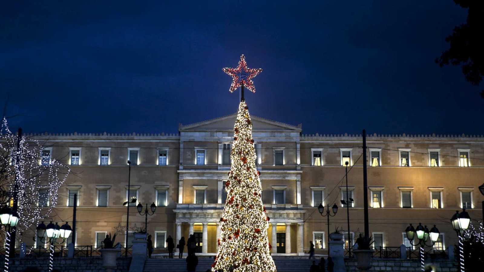 El Parlamento griego en Atenas