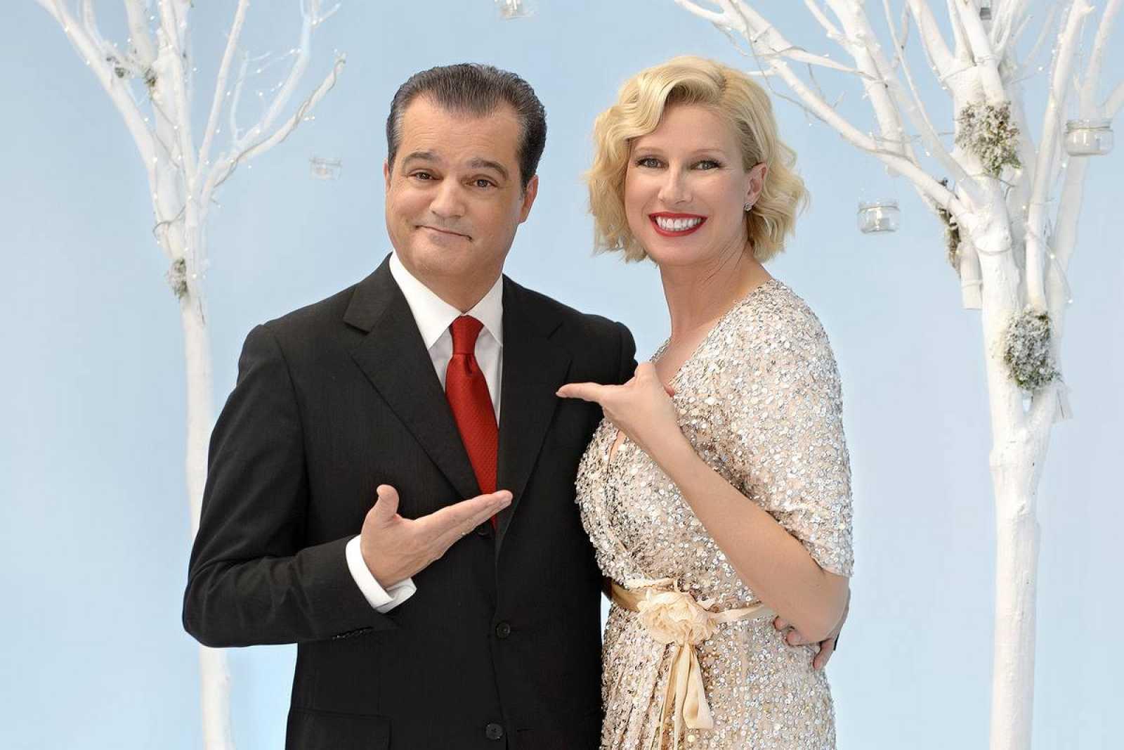 Anne Igartiiburu y Ramón García, los rostros de la Nochevieja en TVE