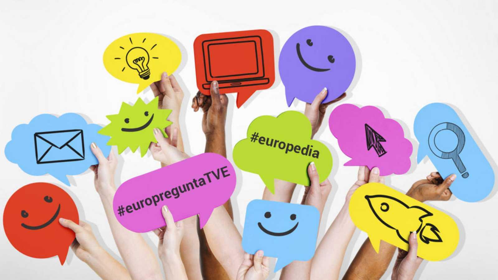 #europreguntaTVE y #europedia, ¡envía tu vídeo!