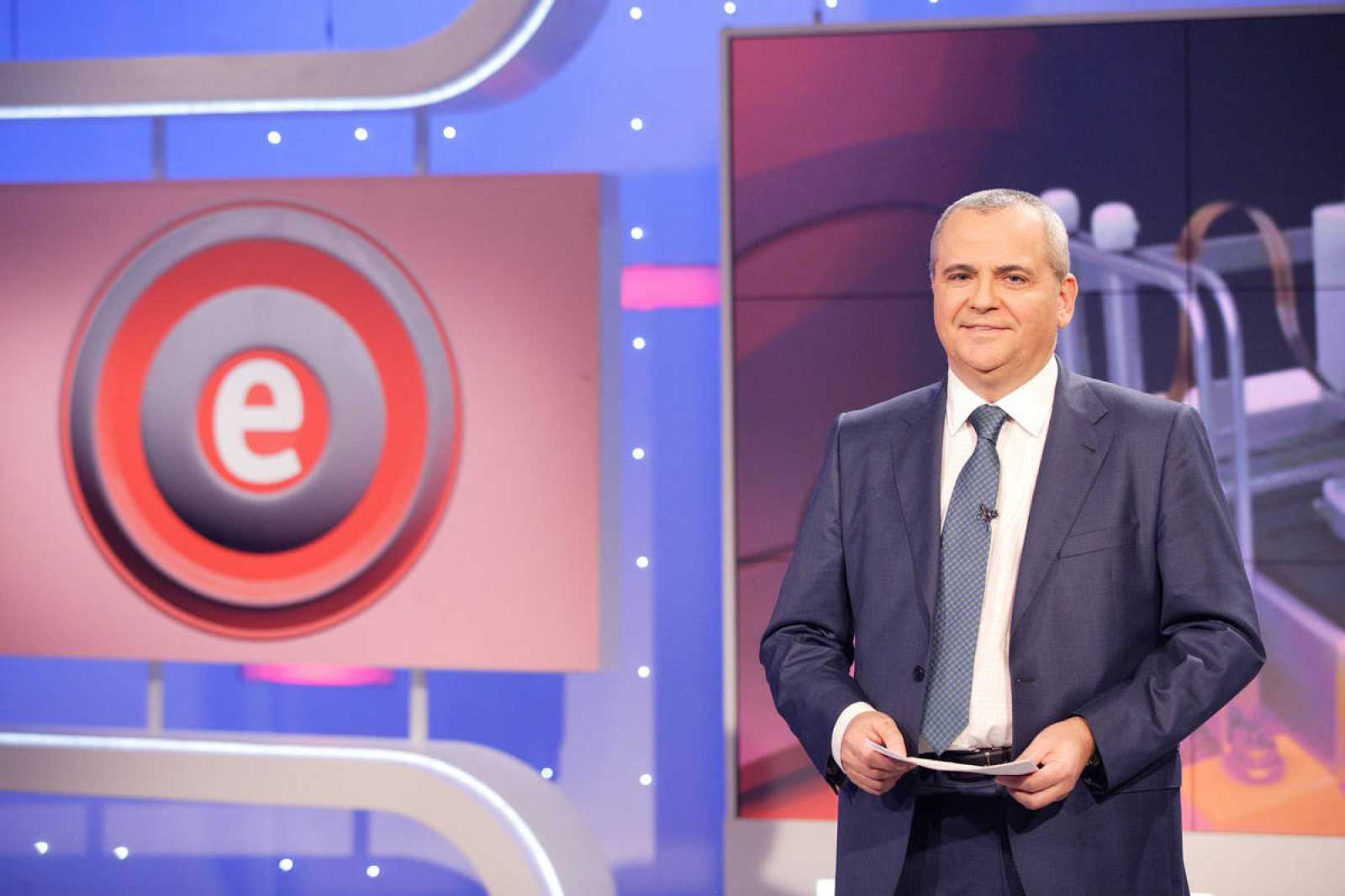 Juanma Romero, director y presentador de 'Emprende'