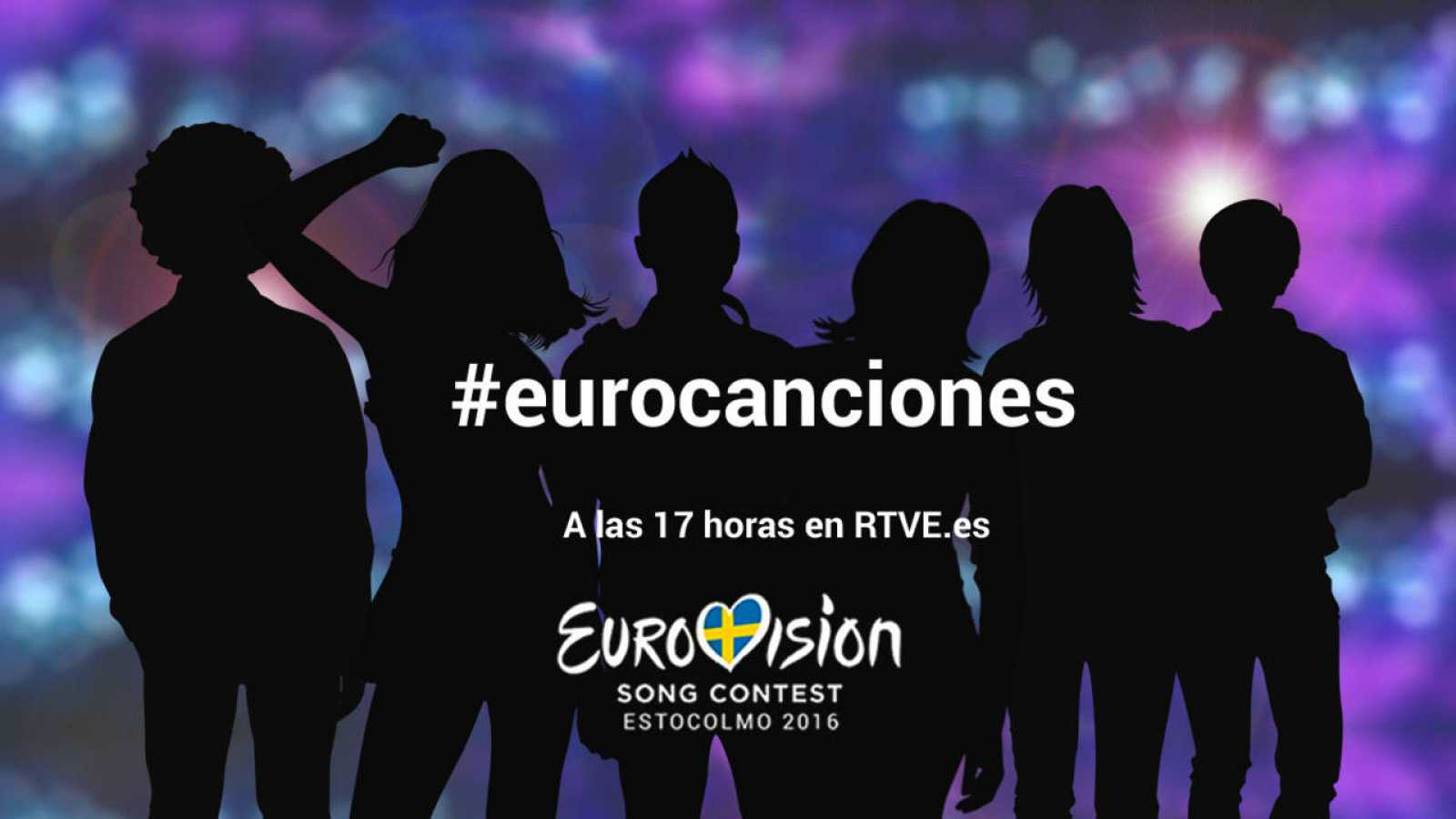 #eurocanciones, a las 17 horas en RTVE.es