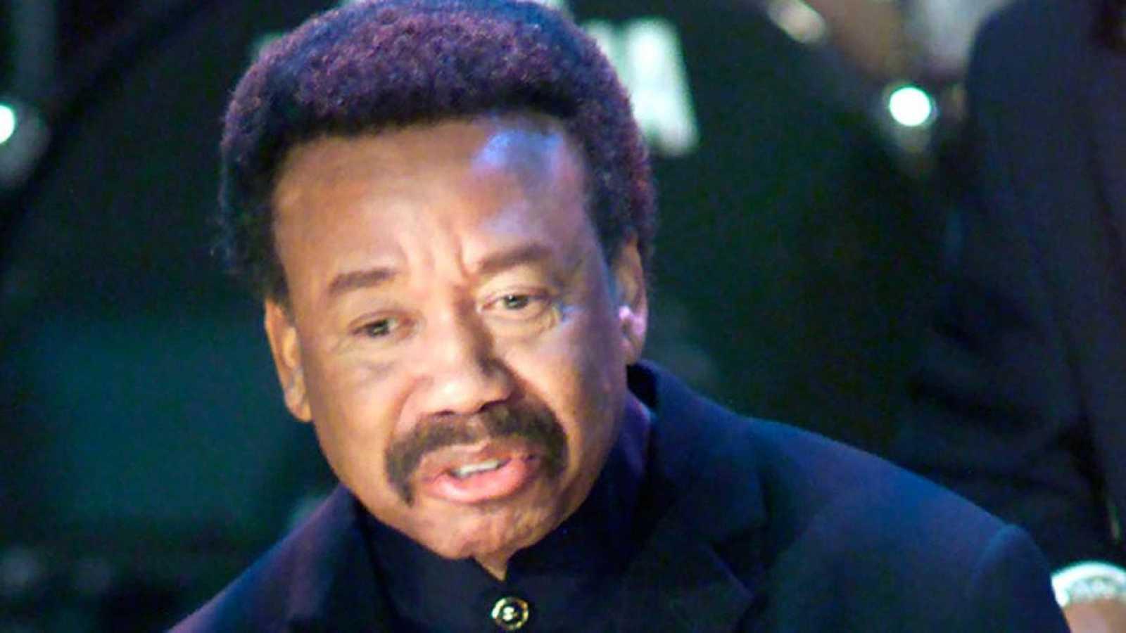 Maurice White, en una actuación en Nueva York en el 2000