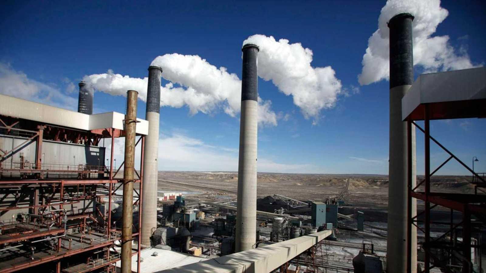 La planta de carbón Jim Power Plant Bridger en Wyoming