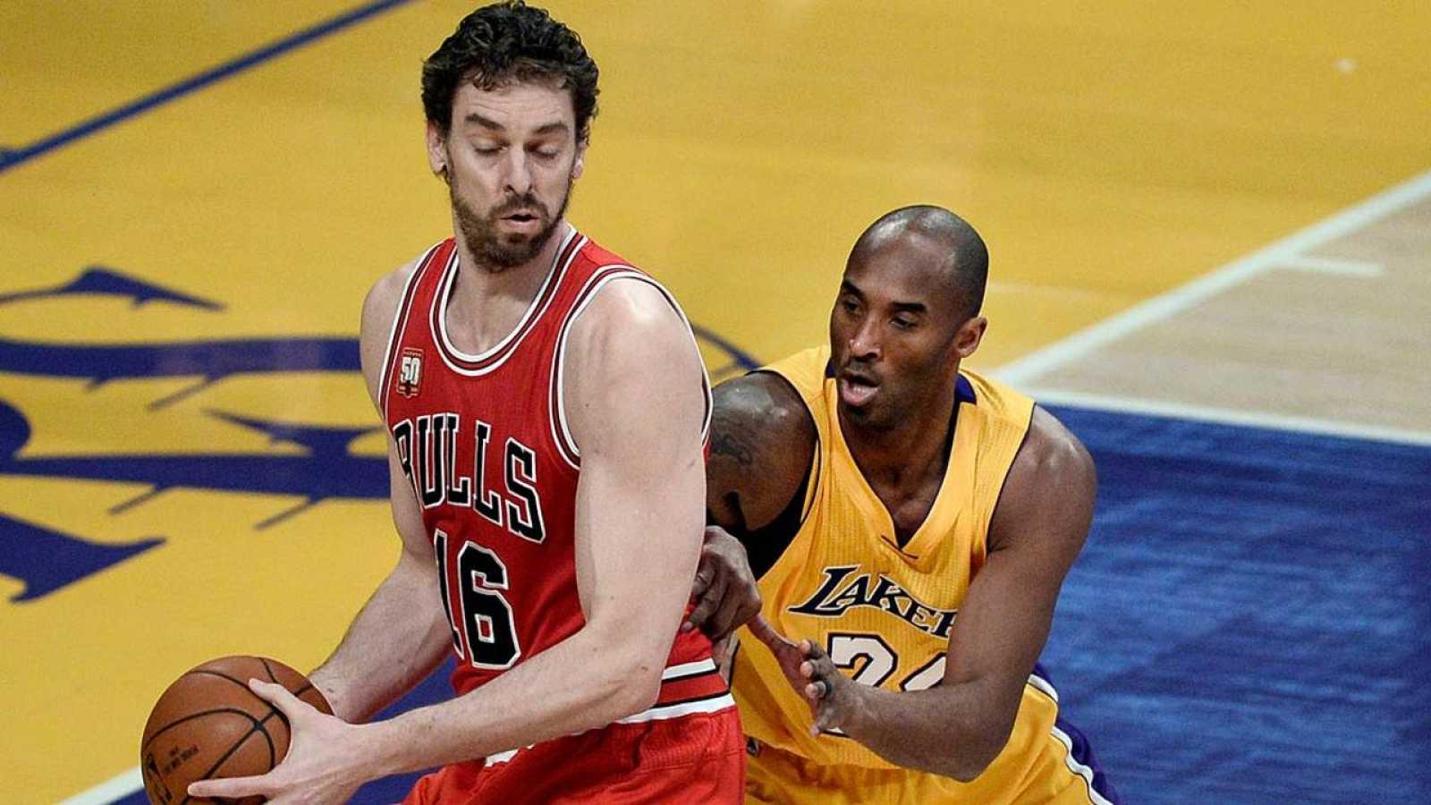 Pau Gasol y Kobe Bryant se verán las caras en el All Star