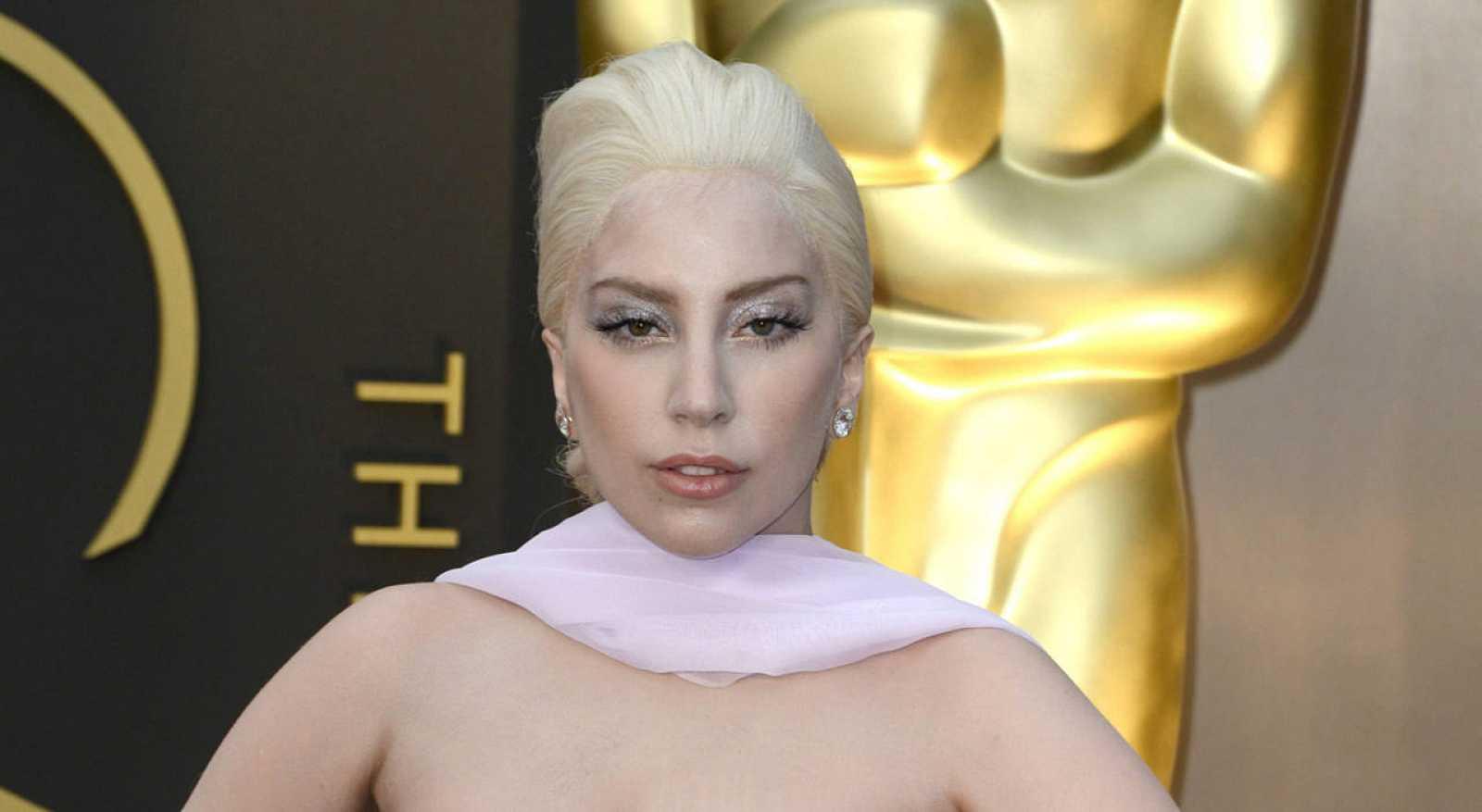 Lady Gaga en la ceremonia de los Oscar de 2014.