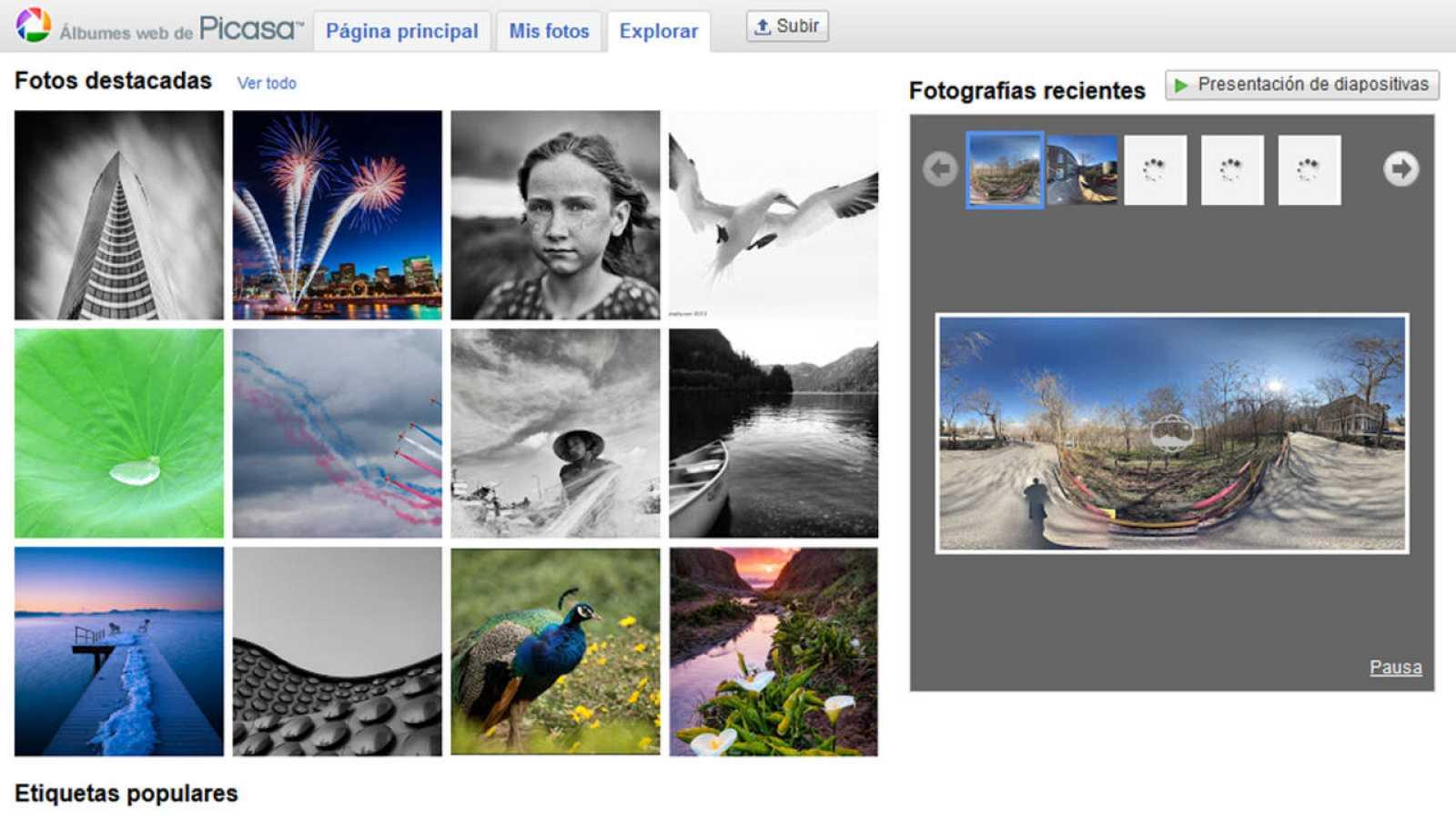 Picasa es una herramienta para organizar, visualizar, editar y compartir fotografías.