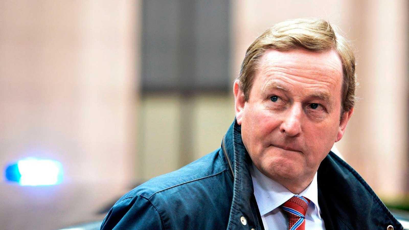 El primer ministro en funciones de Irlanda, Enda Kenny