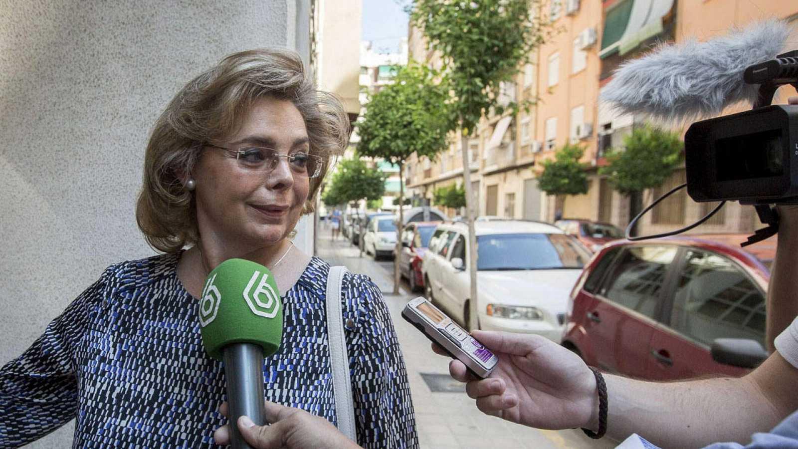 La exconcejala de Cultura del Ayuntamiento de Valencia María José Alcón